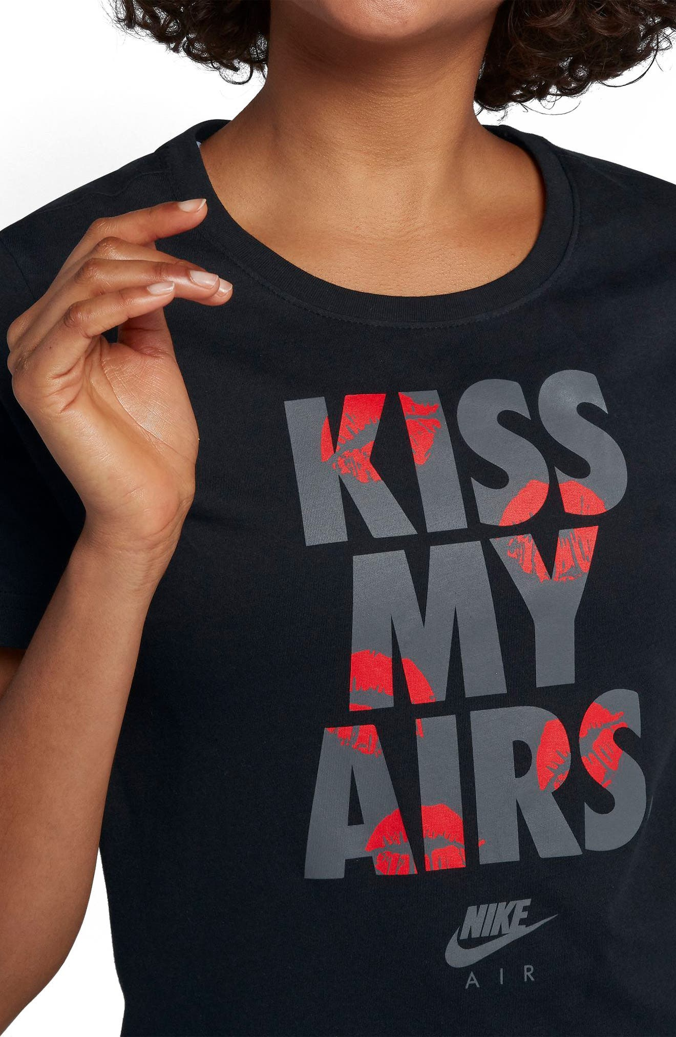 Sportswear Kiss My Airs Crewneck Tee,                             Alternate thumbnail 8, color,