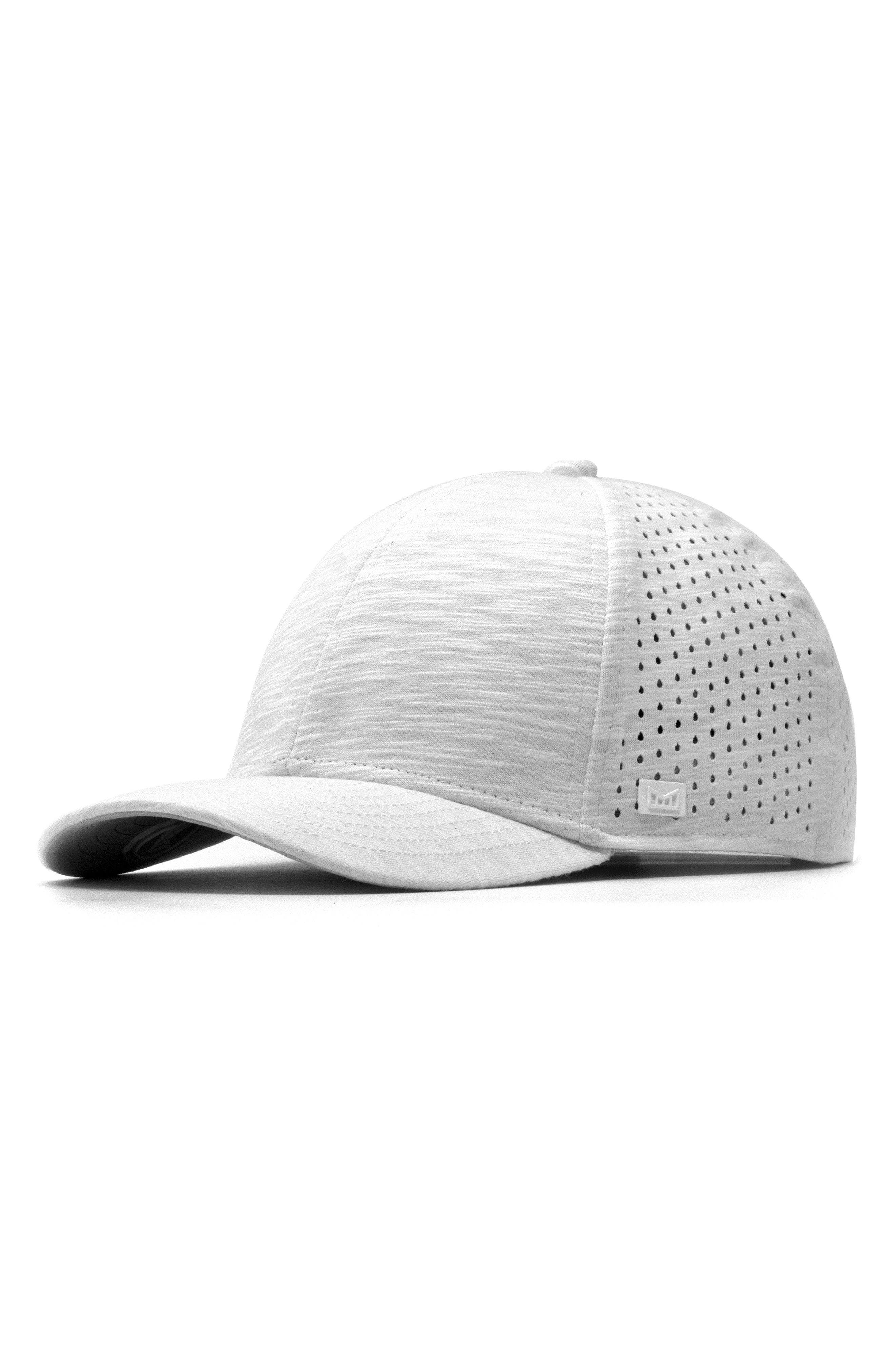 MELIN The A-Game Ball Cap - White in Heather White