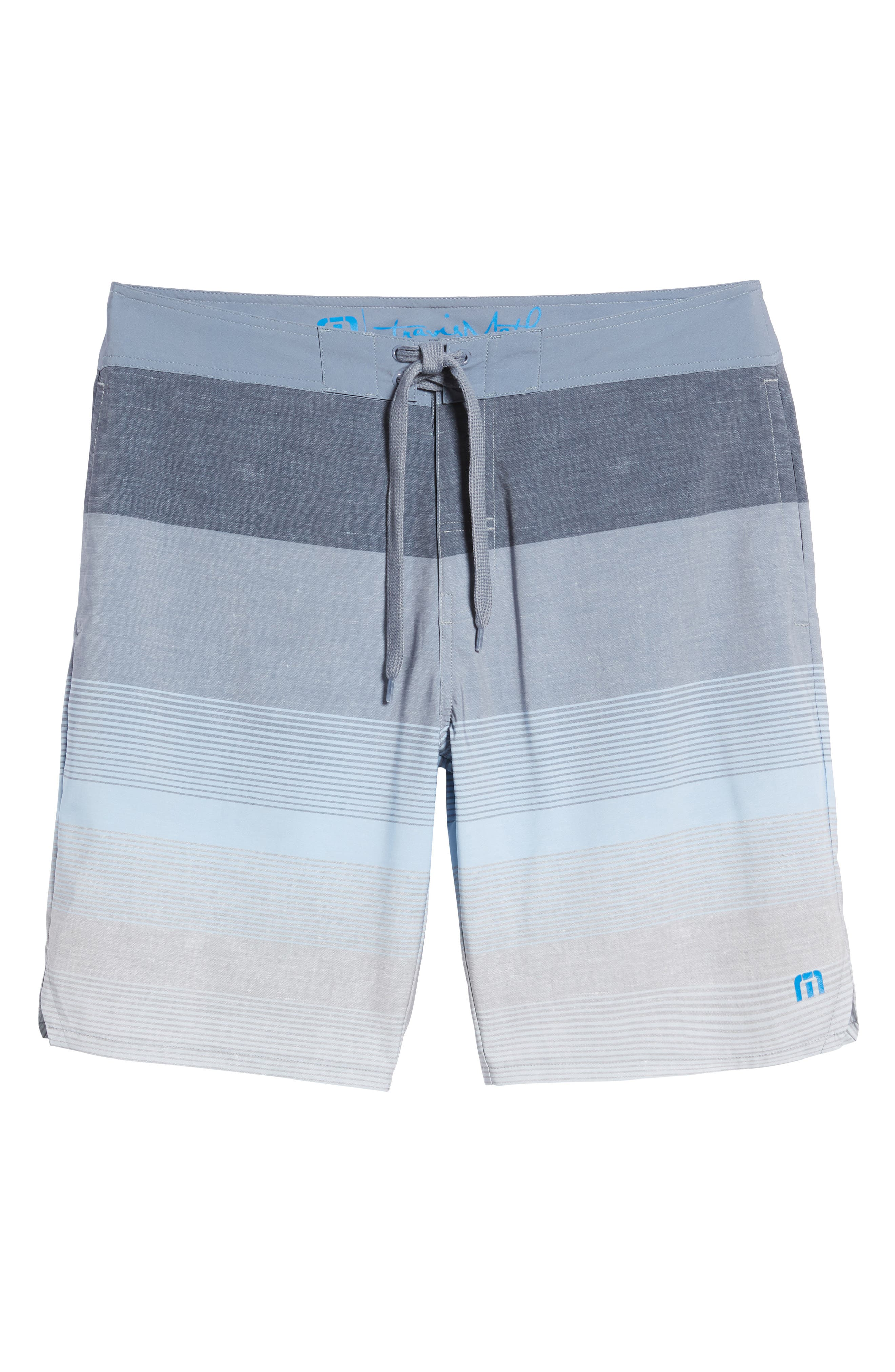 Seegrid Regular Fit Board Shorts,                             Alternate thumbnail 6, color,                             401