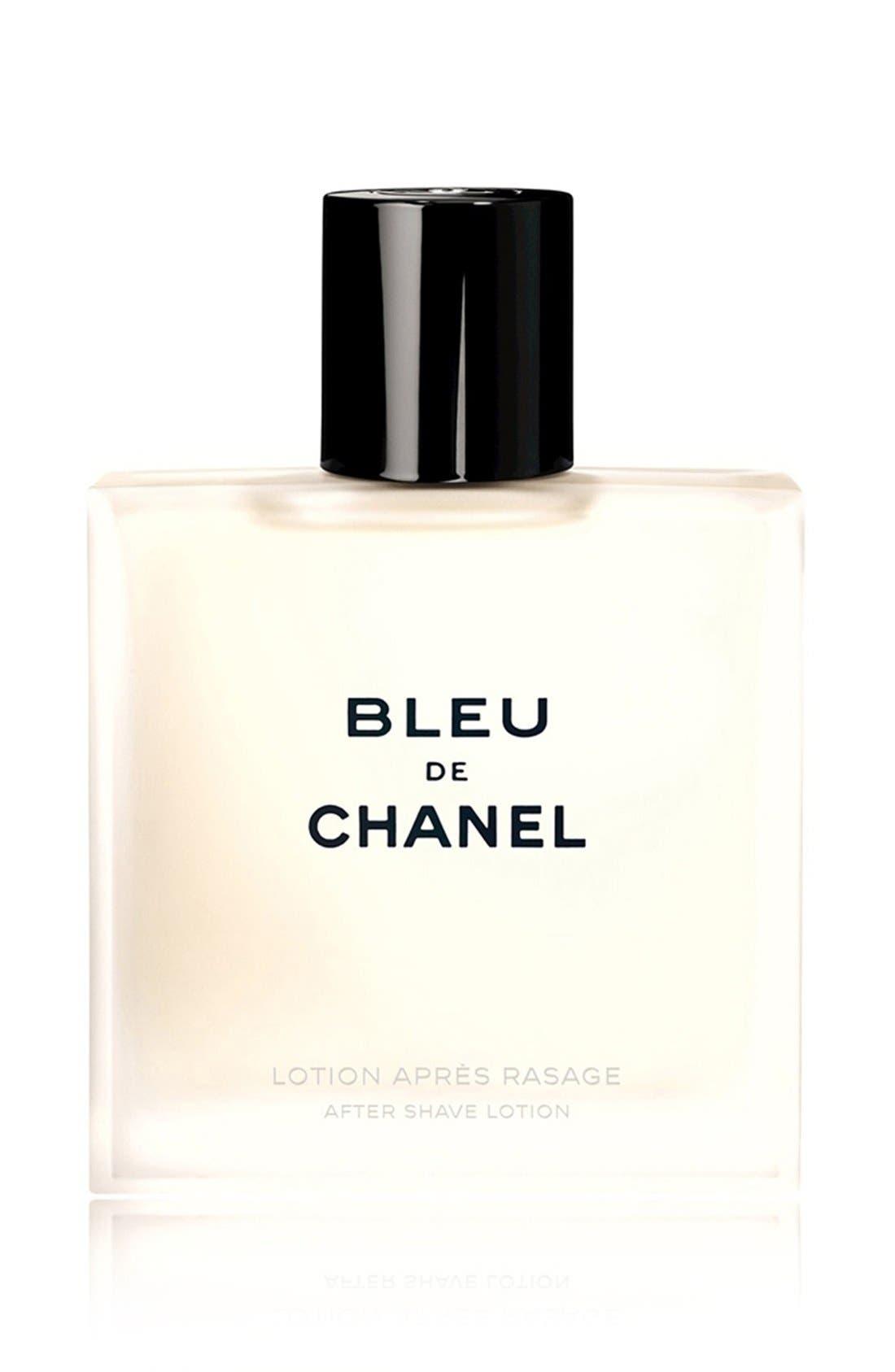 BLEU DE CHANEL<br />After Shave Lotion,                             Main thumbnail 1, color,                             NO COLOR