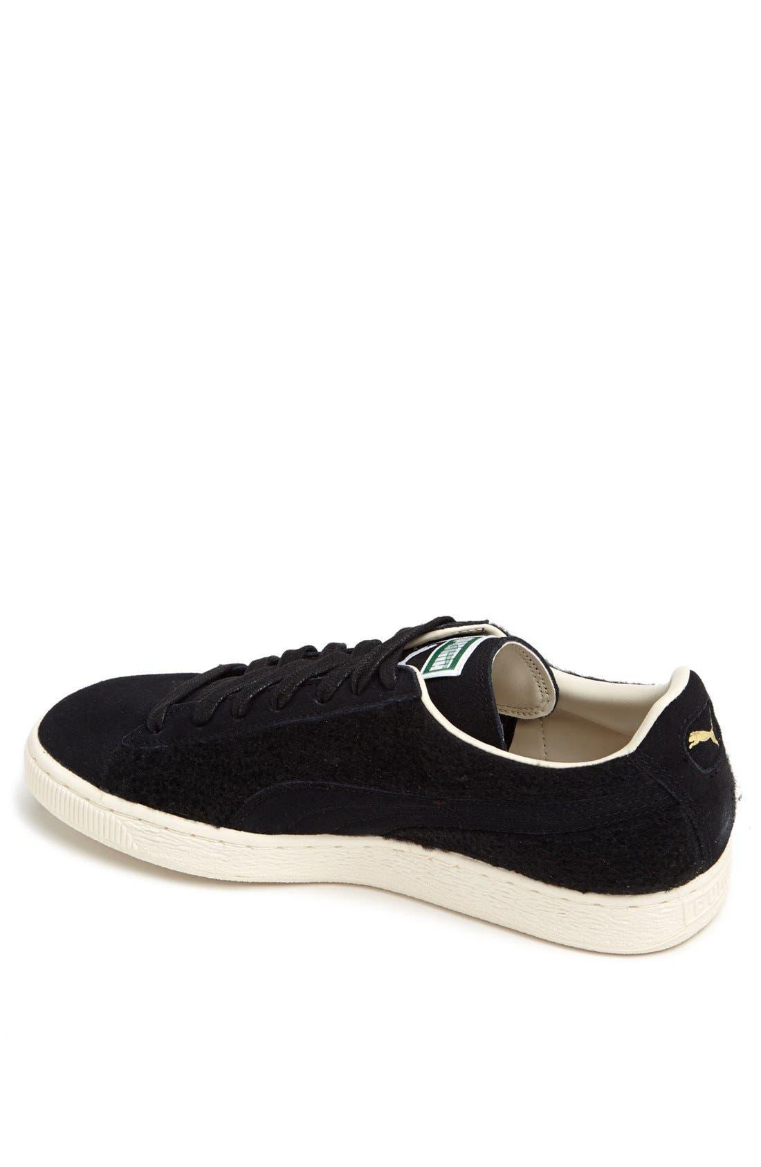 'Suede City' Sneaker,                             Alternate thumbnail 4, color,                             001