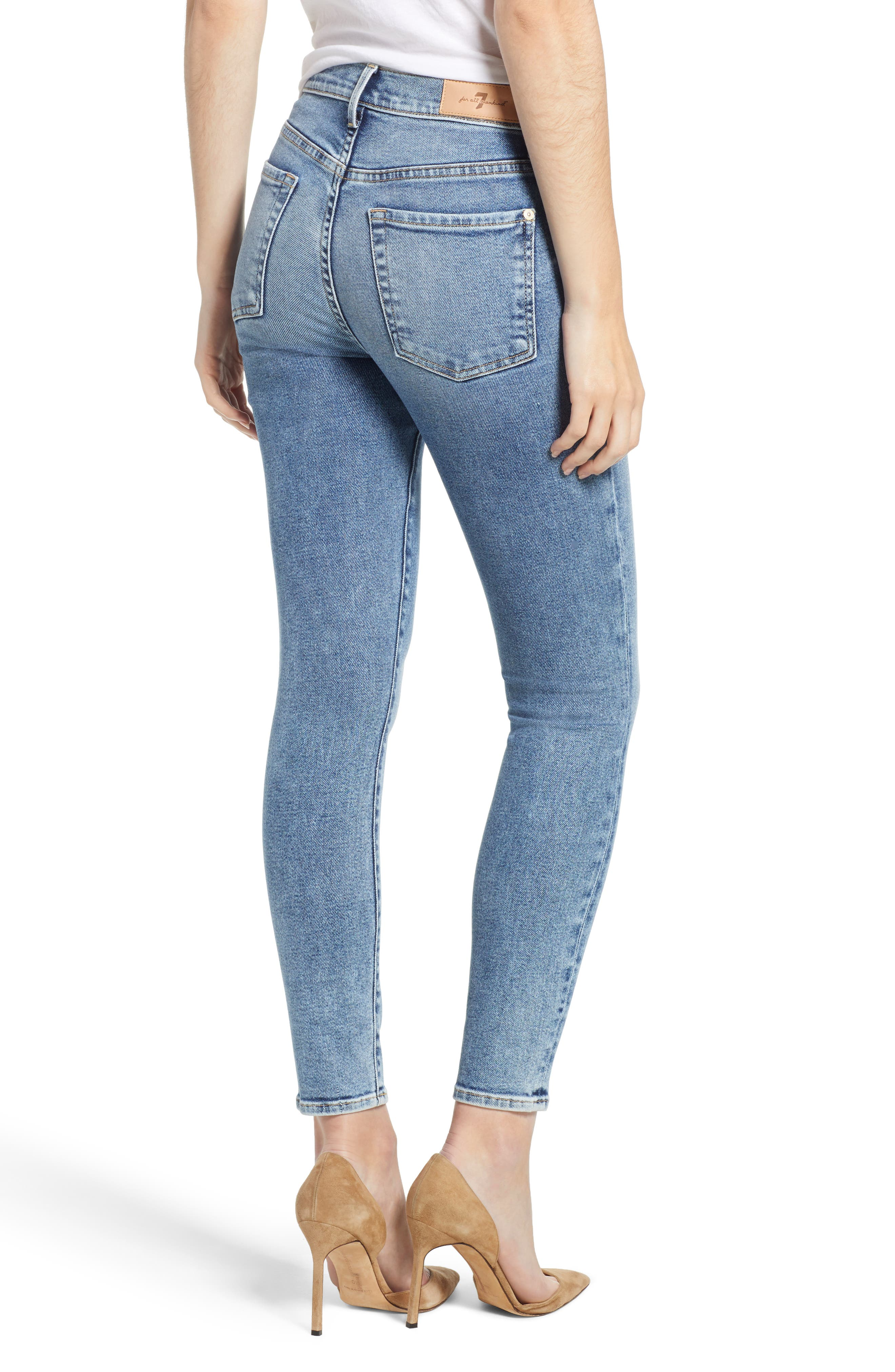 Luxe Vintage High Waist Ankle Skinny Jeans,                             Alternate thumbnail 2, color,                             LUXE VINTAGE MUSE
