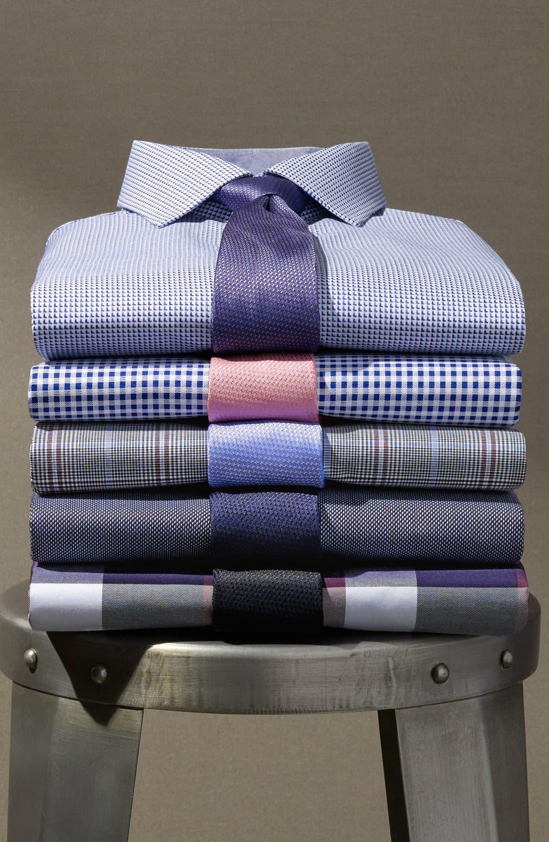 Seattle Textured Silk Tie,                             Main thumbnail 1, color,