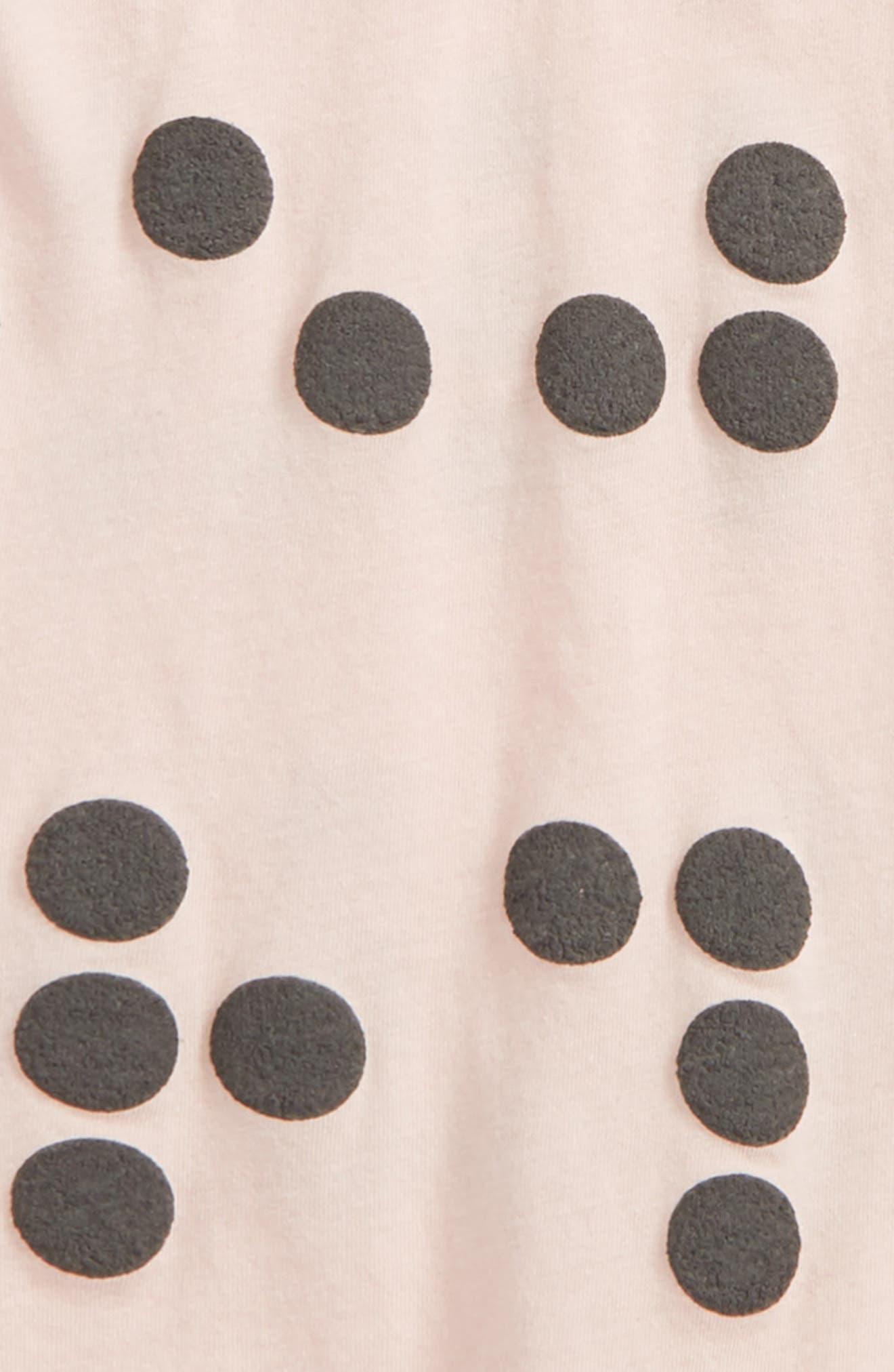 Braille Romper,                             Alternate thumbnail 2, color,