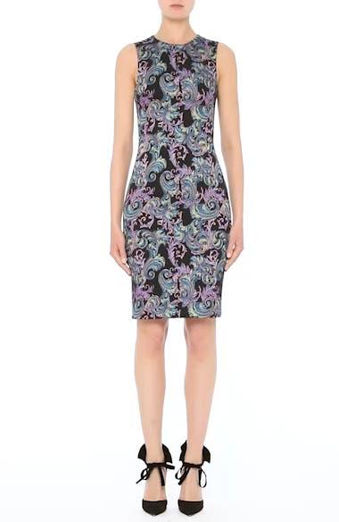 Collection Jacquard Sheath Dress, video thumbnail