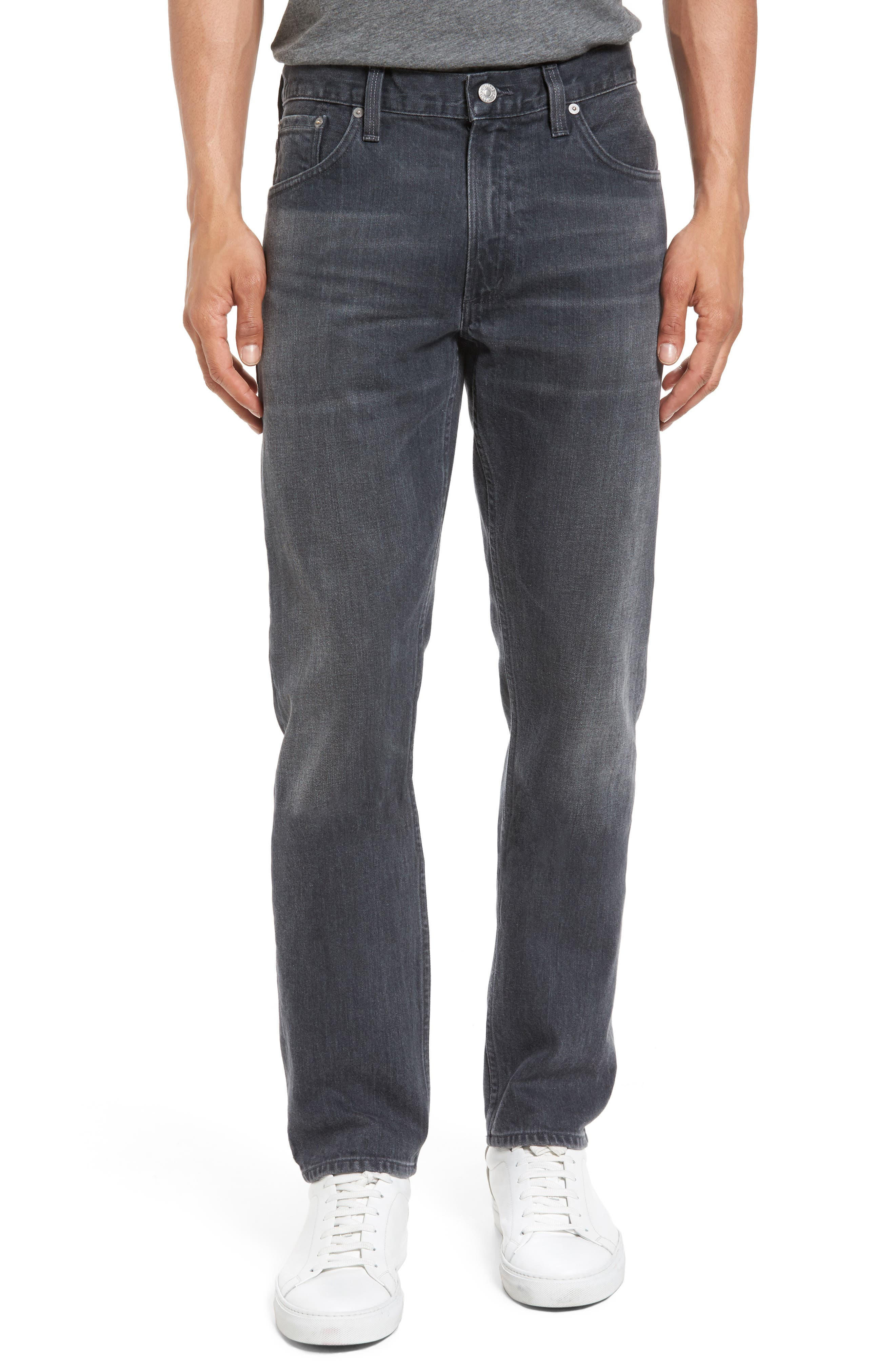 Bowery Slim Fit Jeans,                             Main thumbnail 1, color,                             022