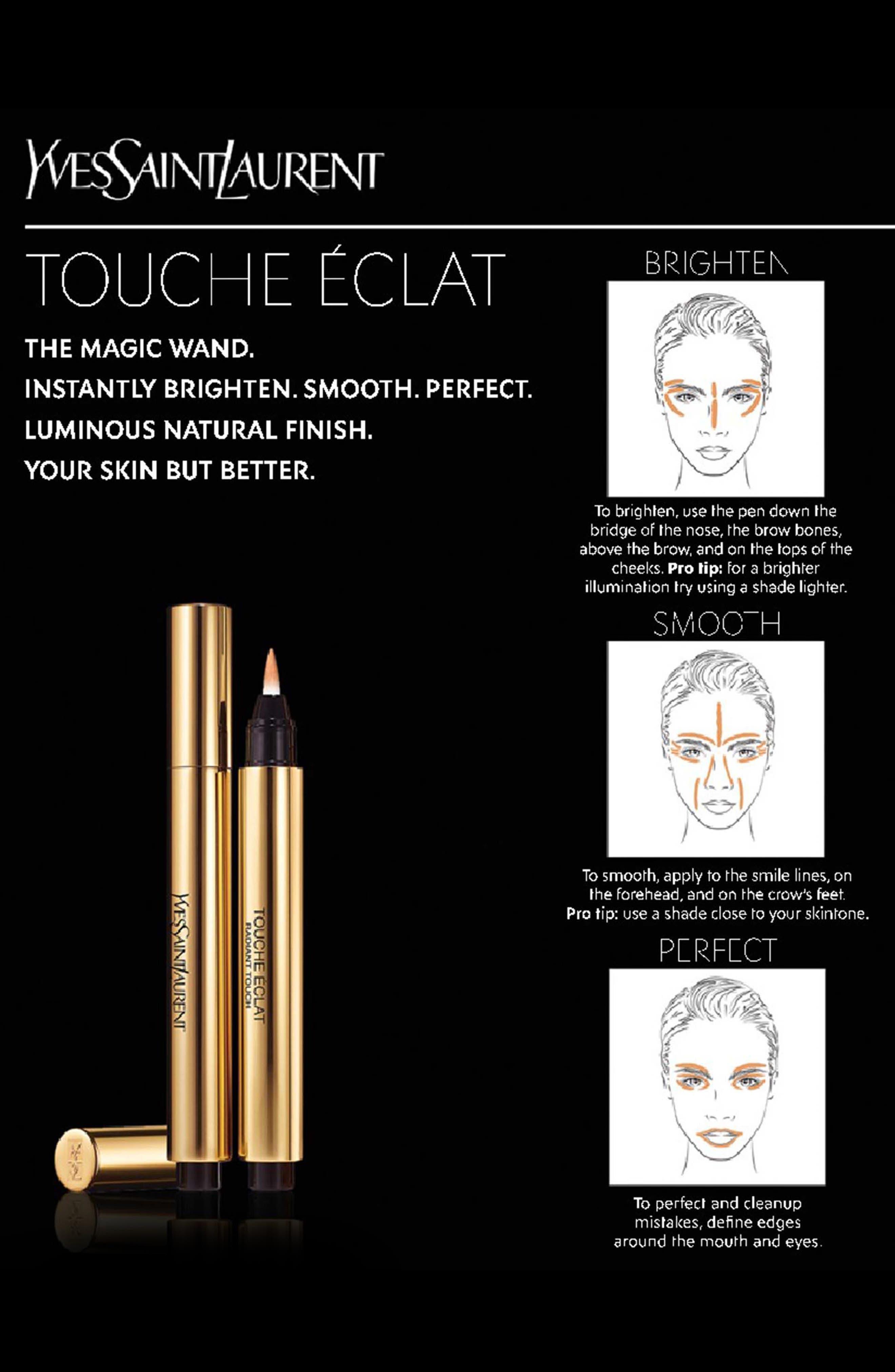 Touche Éclat All-Over Brightening Pen,                             Alternate thumbnail 4, color,                             1 LUMINOUS RADIANCE