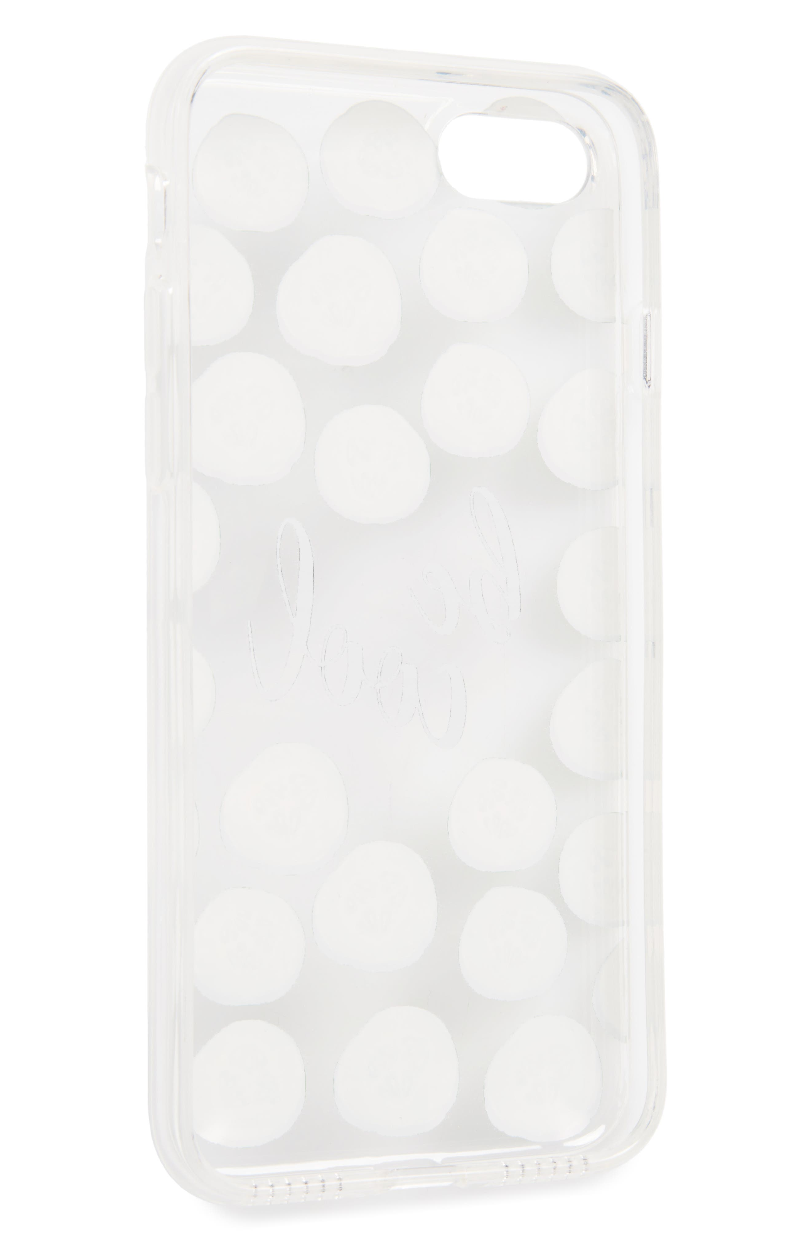 Be Cool Cucumbers iPhone 7 Case,                             Alternate thumbnail 2, color,                             300