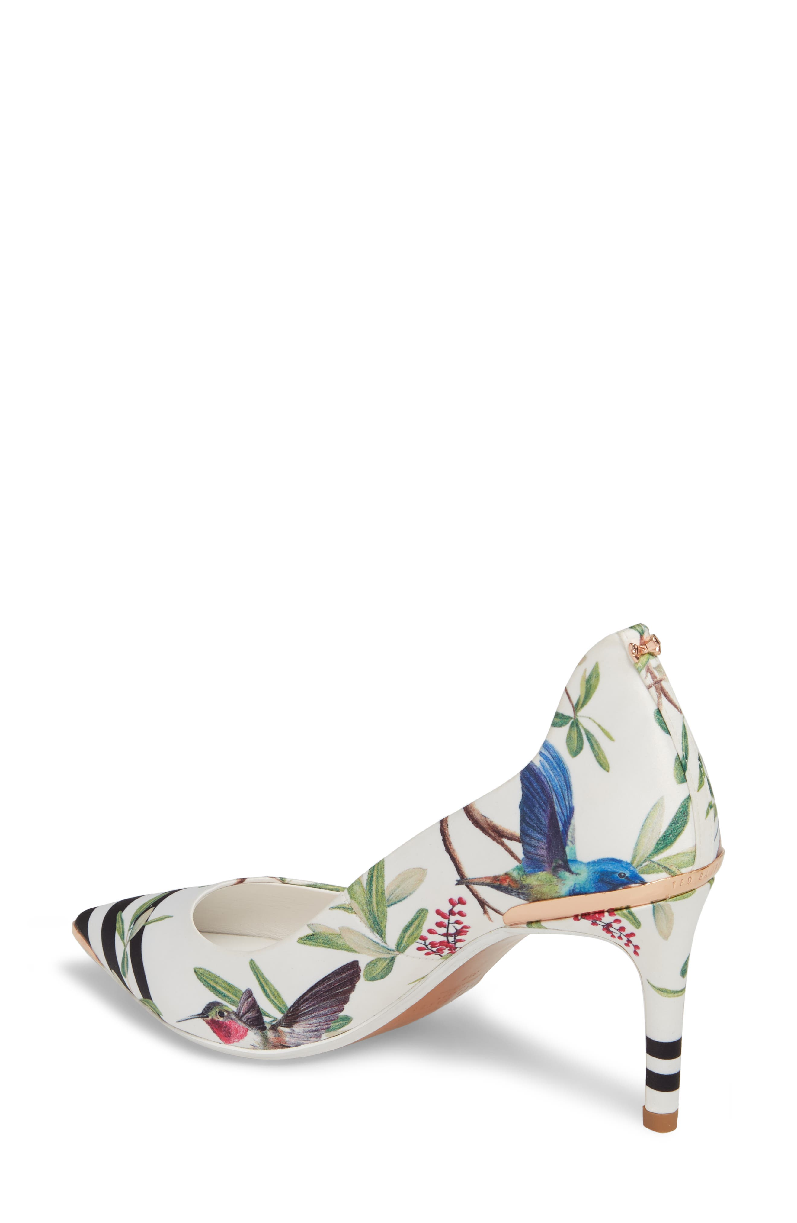 Pointy Toe Pump,                             Alternate thumbnail 6, color,