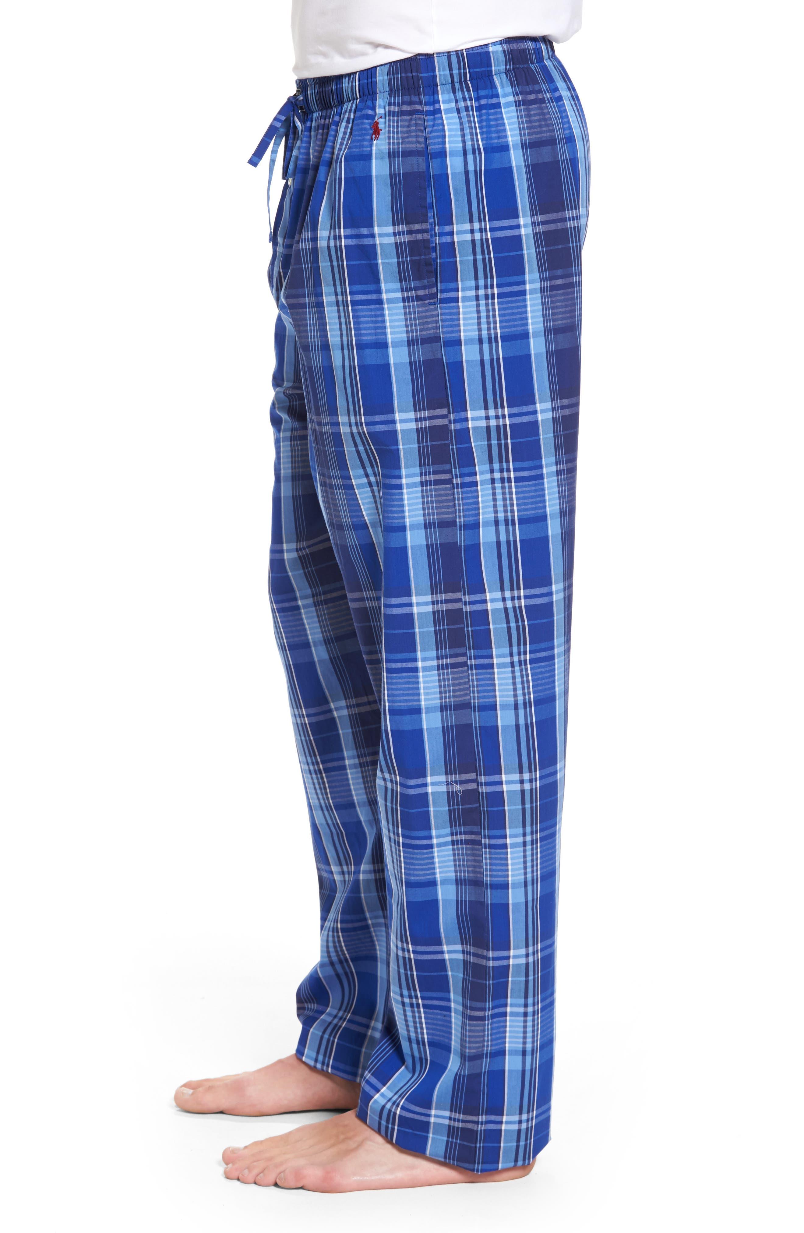 Cotton Lounge Pants,                             Alternate thumbnail 3, color,                             406
