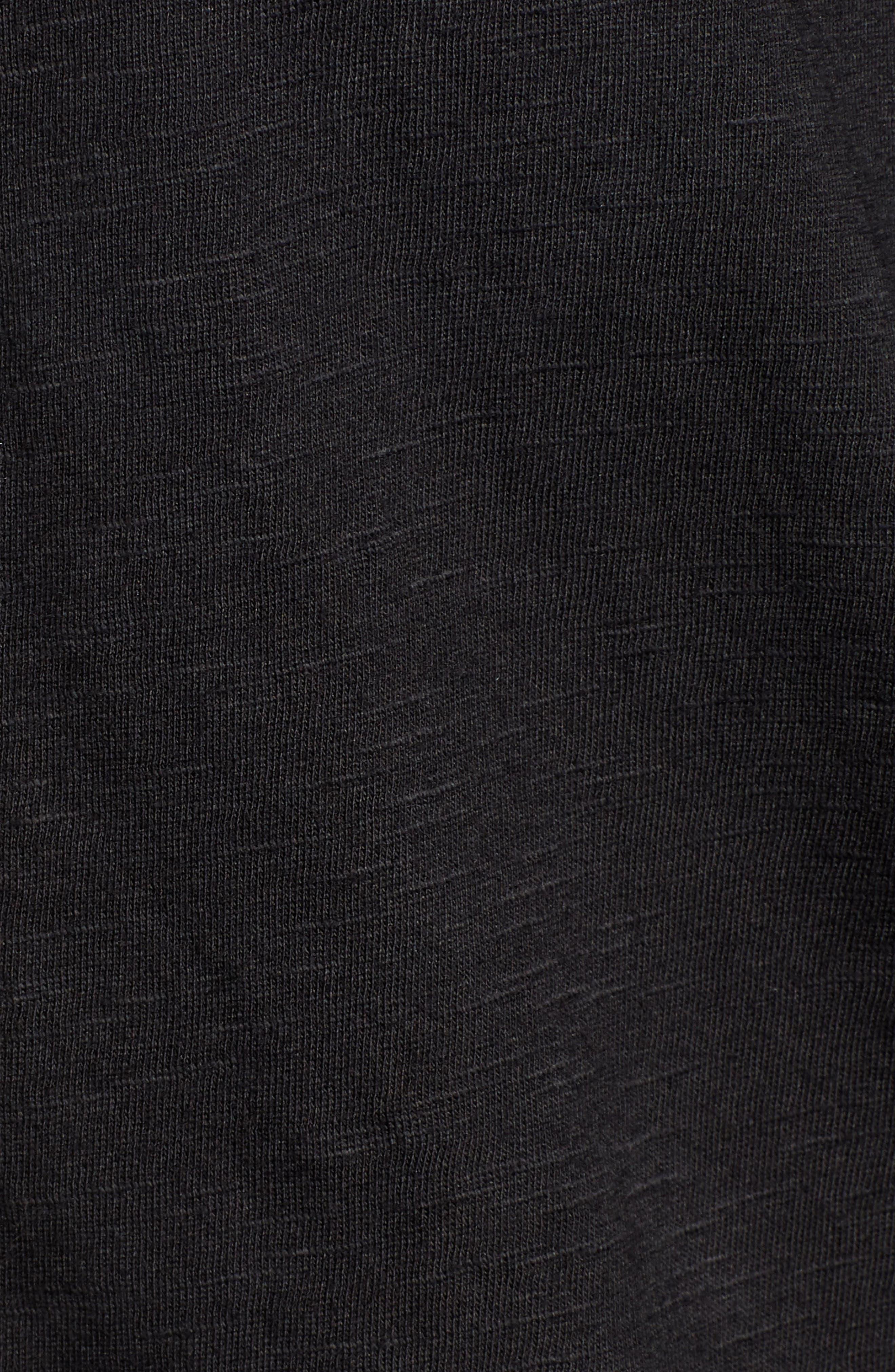 CASLON<SUP>®</SUP>,                             Faux Wrap Top,                             Alternate thumbnail 5, color,                             BLACK