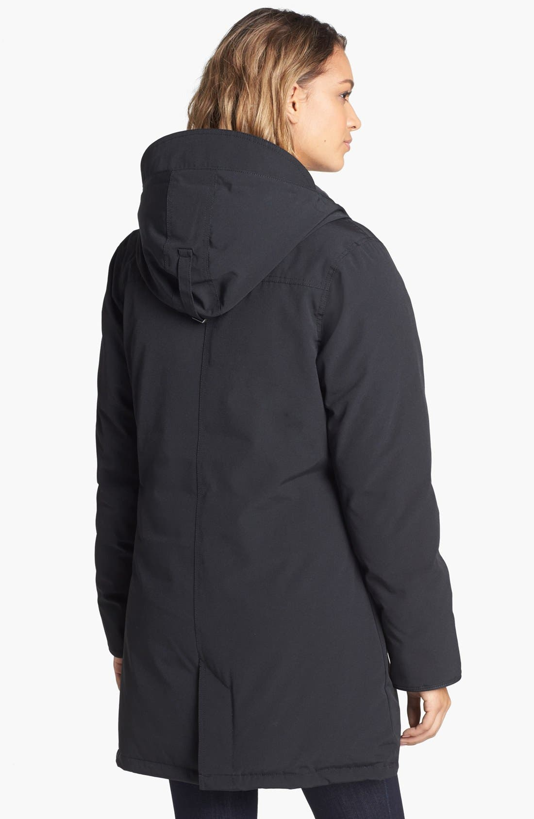 'Camrose' Down Parka,                             Alternate thumbnail 2, color,                             001