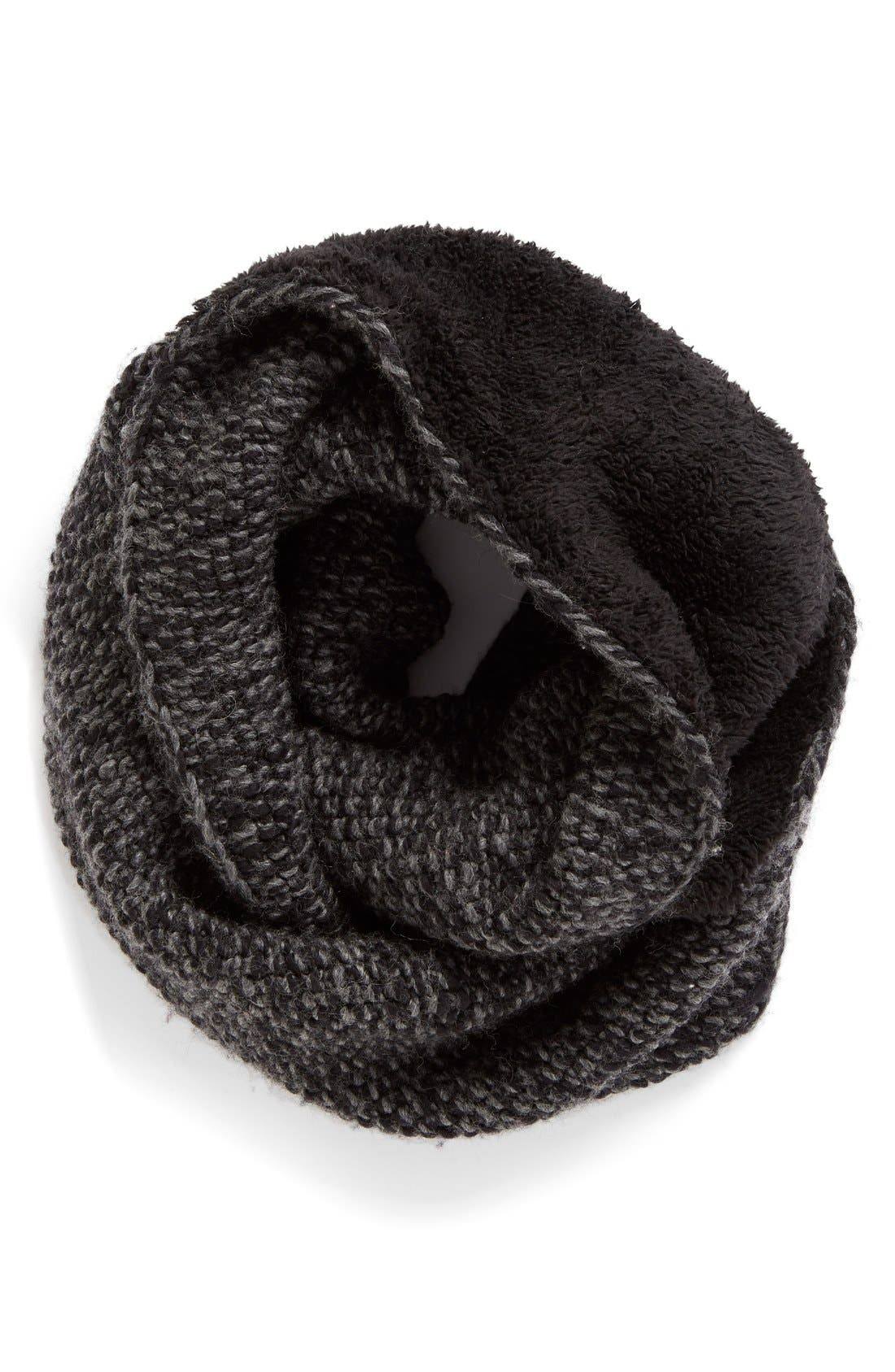 Knit Wool Infinity Scarf,                             Main thumbnail 1, color,