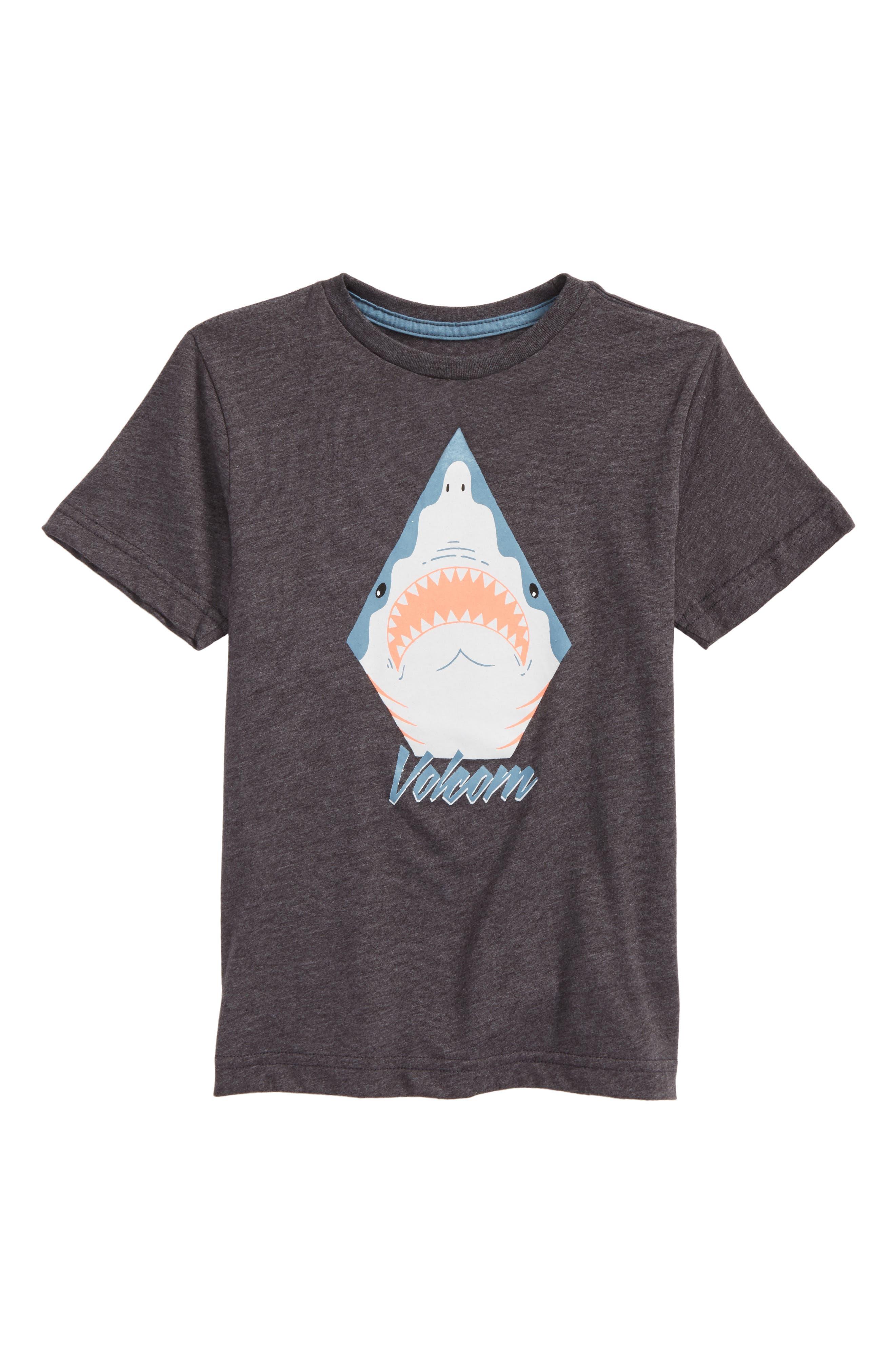 Shark Stone Graphic T-Shirt,                             Main thumbnail 1, color,                             001