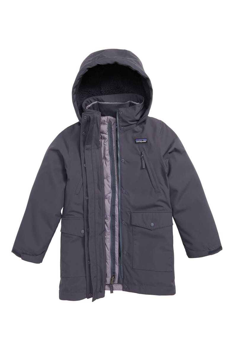 3523731381d7 Patagonia Tres Water Repellent 3-in-1 Down Parka (Little Girls   Big ...