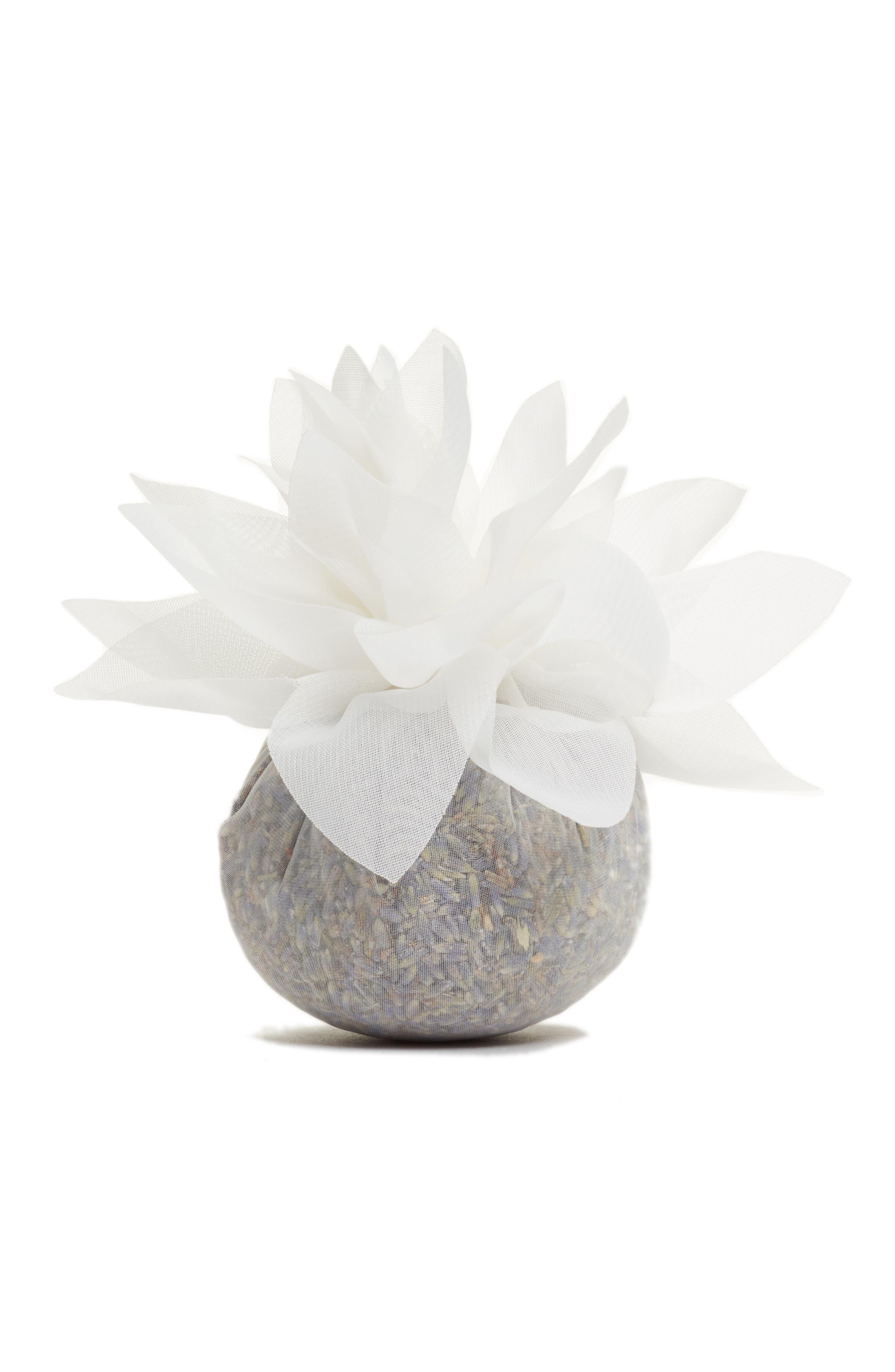 Cream Flower Sachet,                         Main,                         color, 000