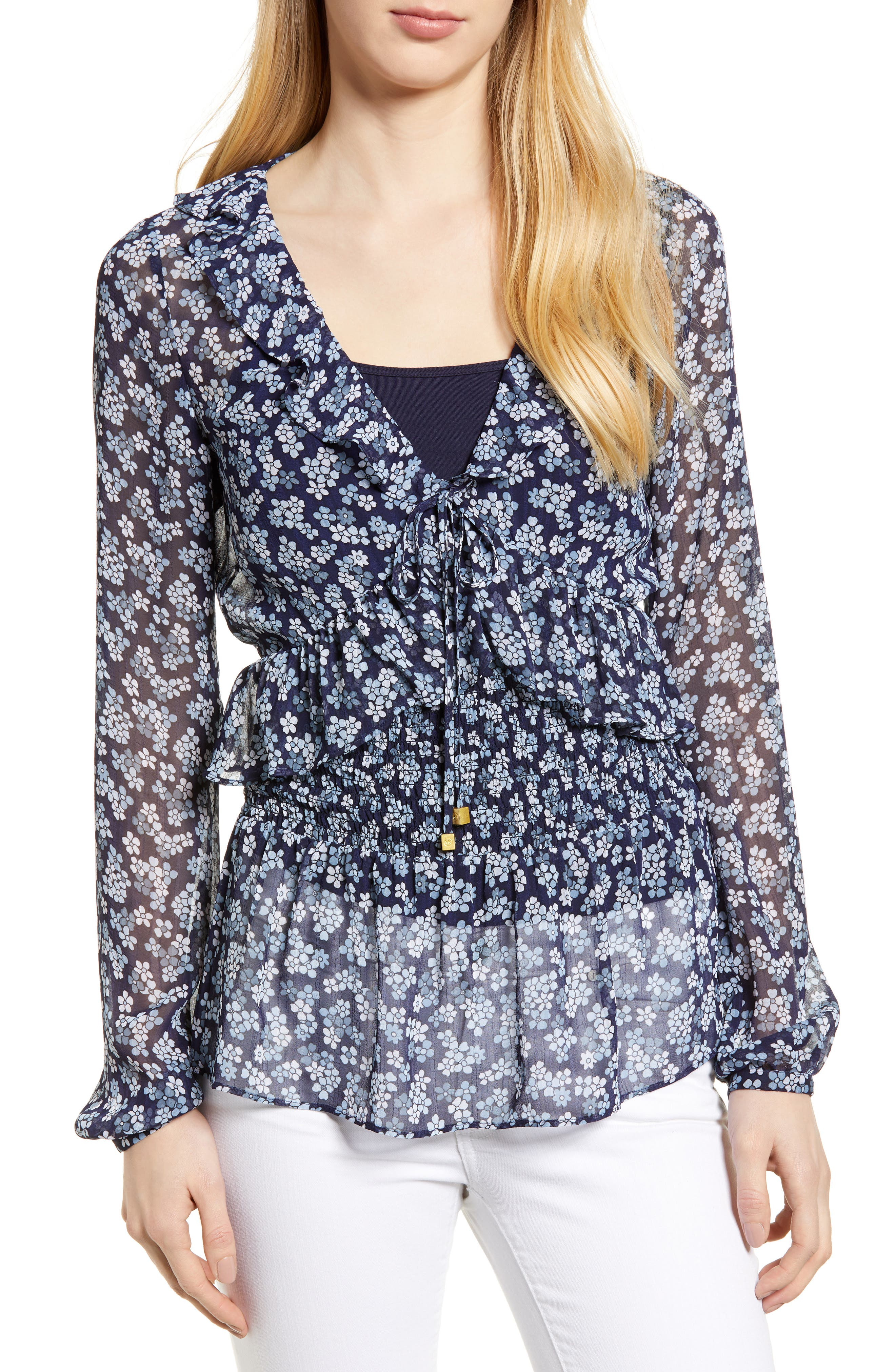 Cherry Blossom Blouse,                         Main,                         color,