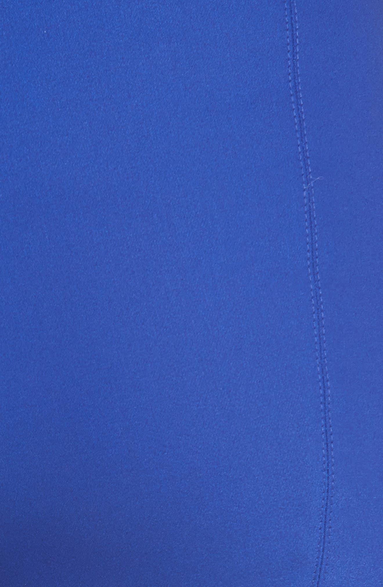 Scuba Bi-Stretch Crop Leggings,                             Alternate thumbnail 5, color,                             430