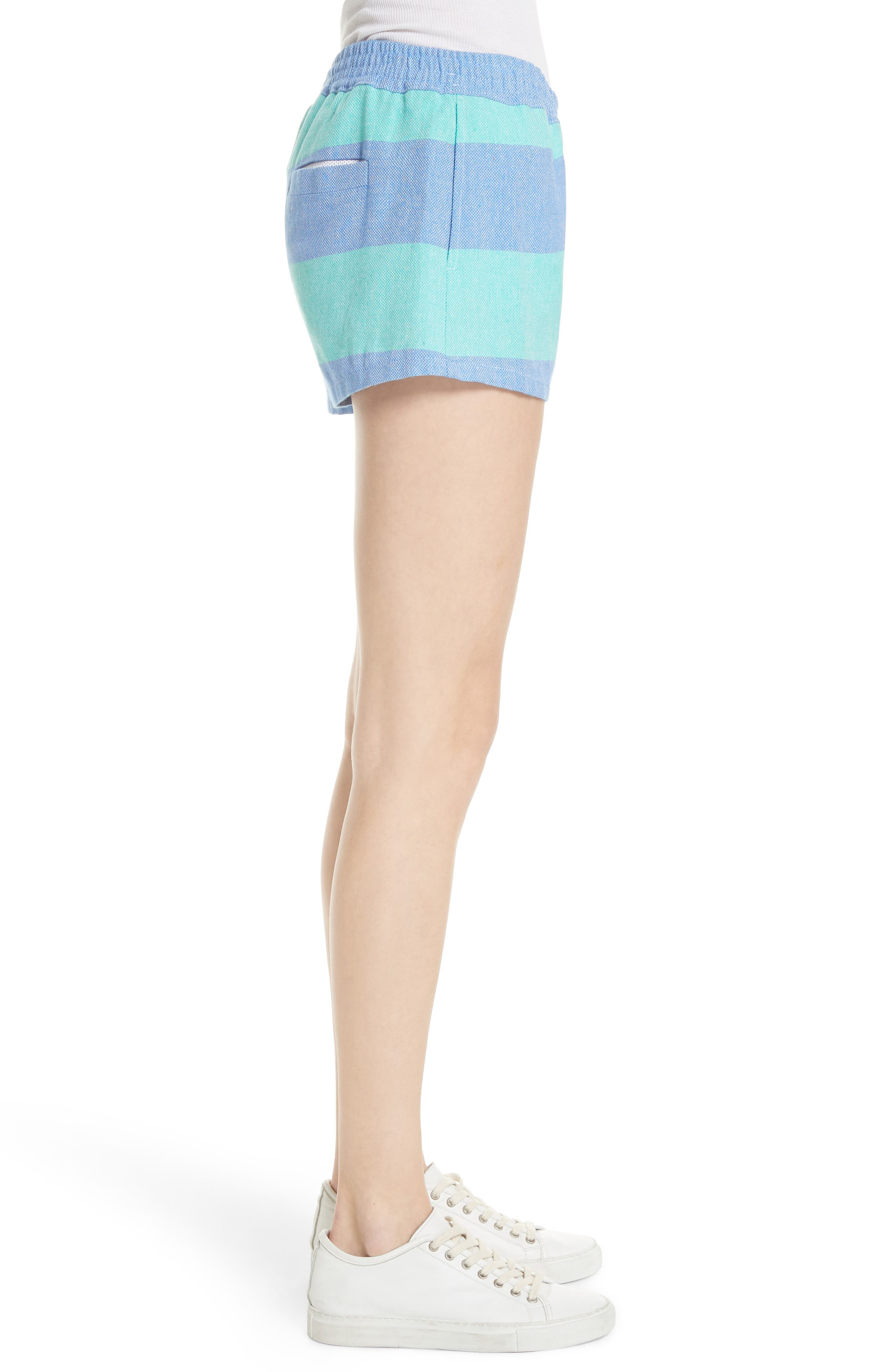 Surf Stripe Shorts,                             Alternate thumbnail 3, color,