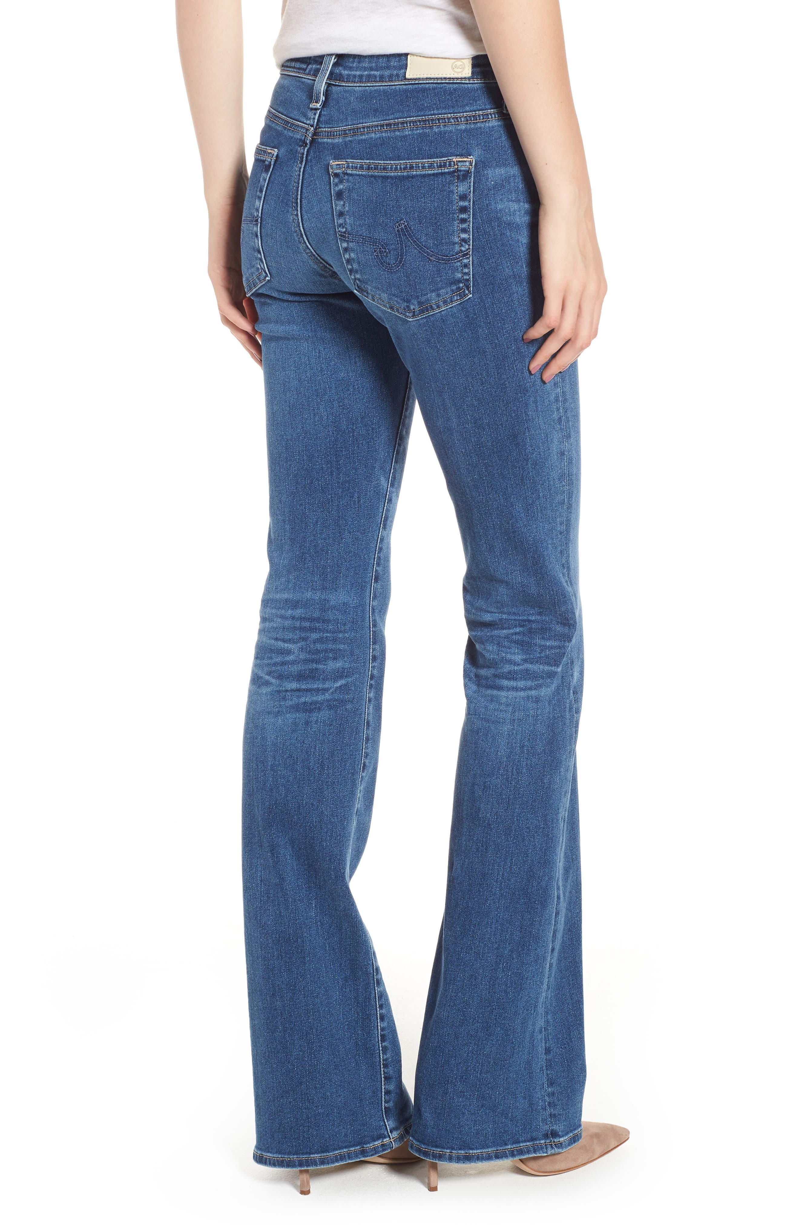 Angel Flare Jeans,                             Alternate thumbnail 2, color,                             10 YEARS CAMBRIA