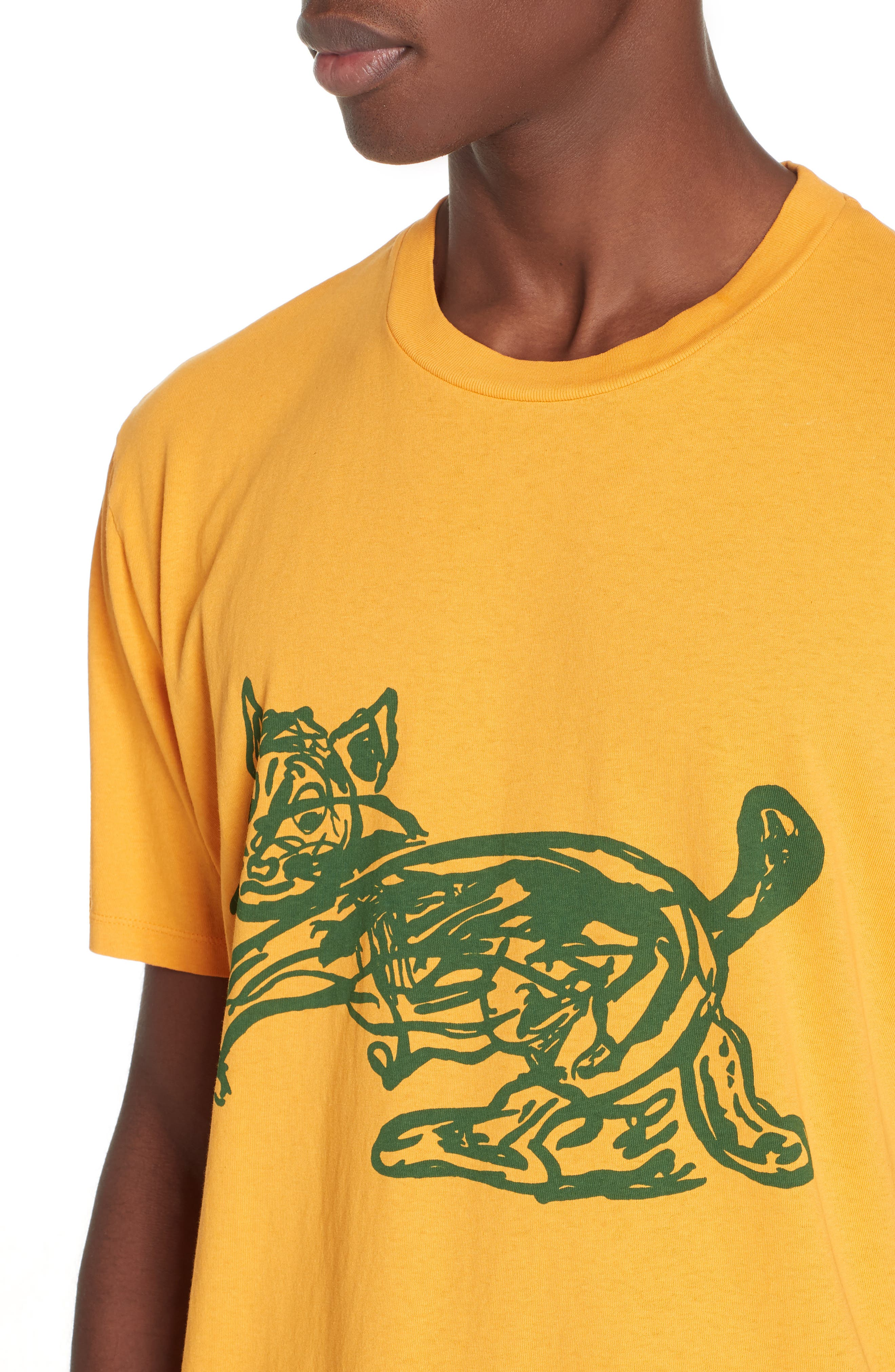 Cat Graphic Box T-shirt,                             Alternate thumbnail 4, color,                             CAT PRINT