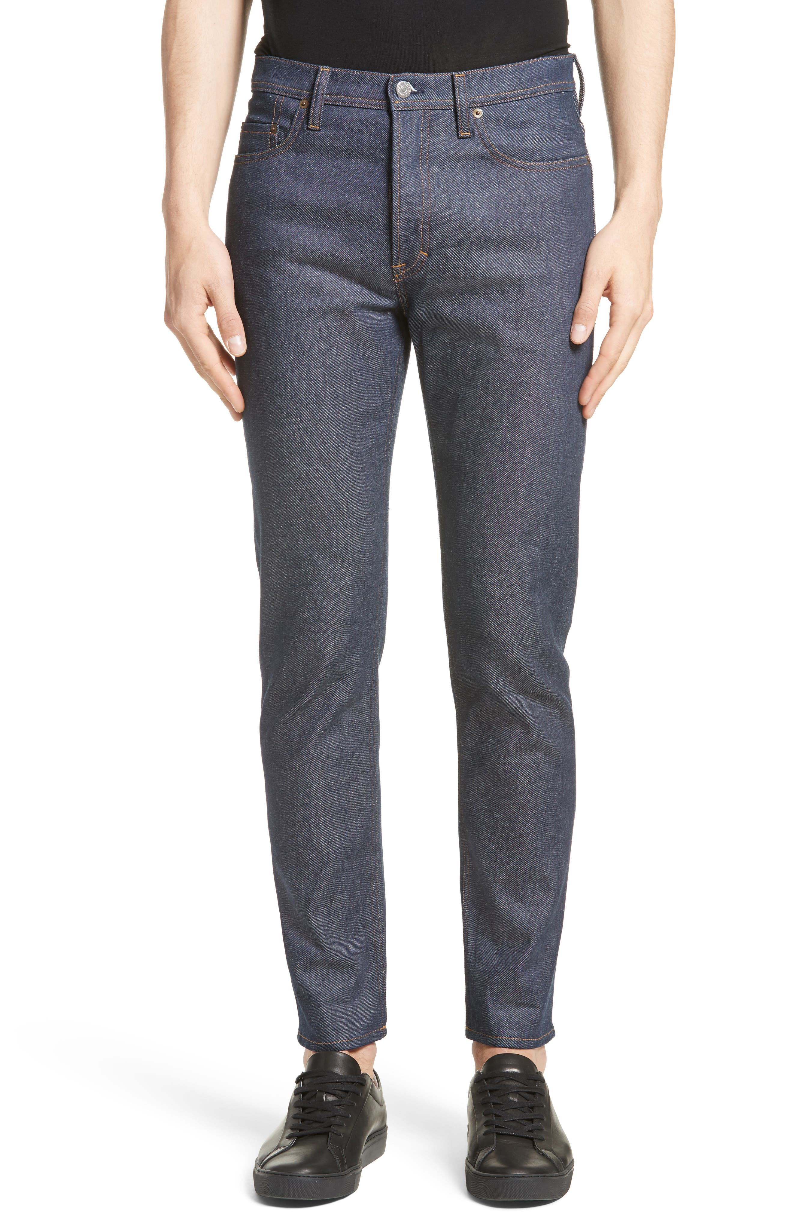 River Slim Tapered Leg Jeans,                         Main,                         color, INDIGO