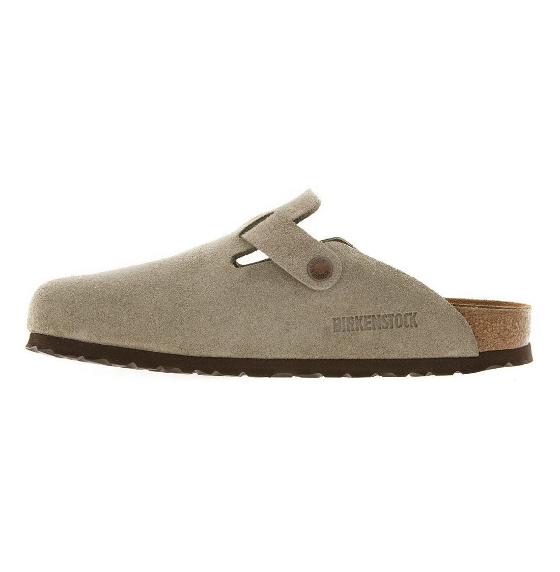 'Boston' Classic Oiled Leather Clog,                             Alternate thumbnail 49, color,