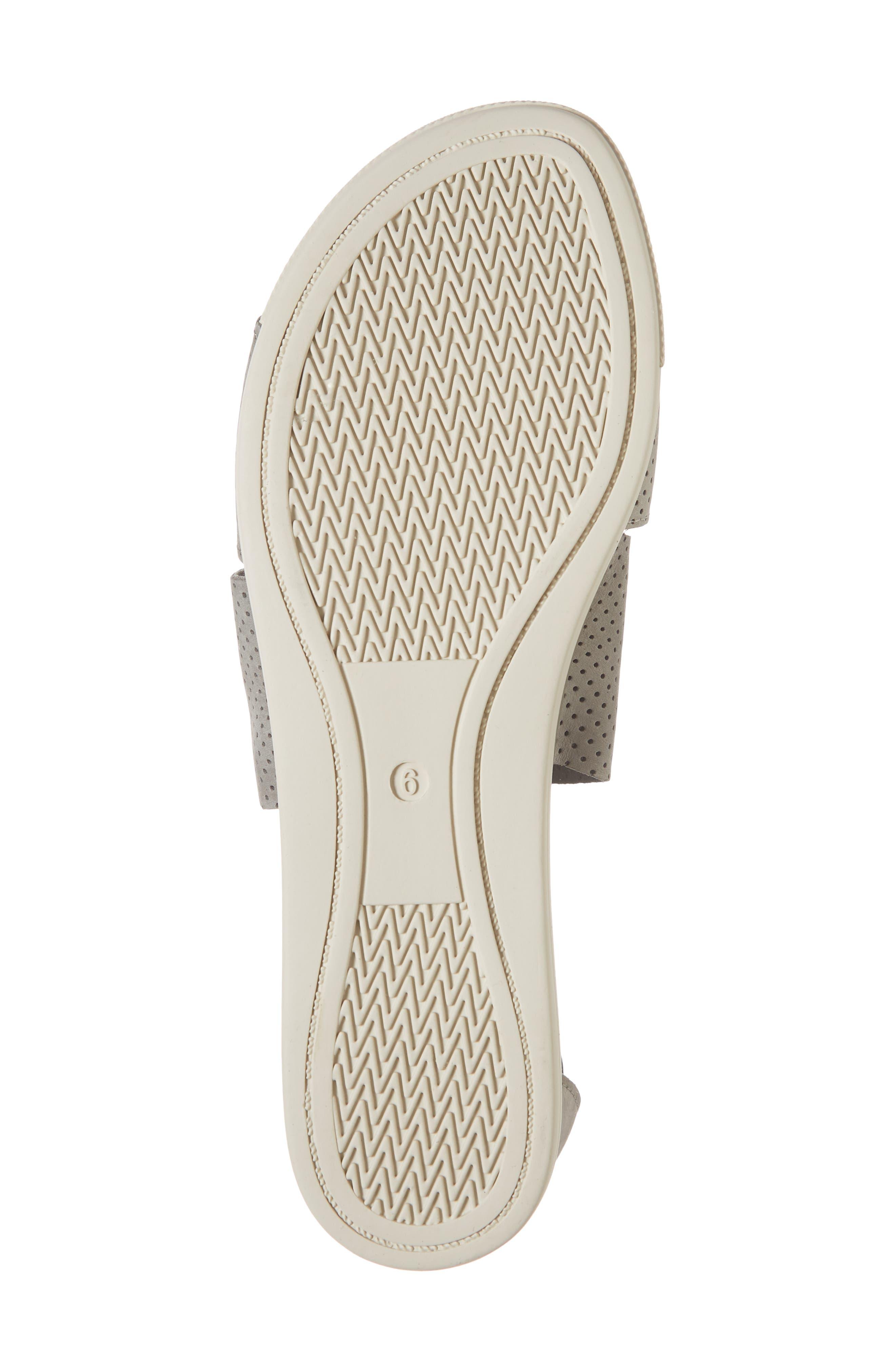 Sport Platform Sandal,                             Alternate thumbnail 6, color,                             MOON/ MOON NUBUCK