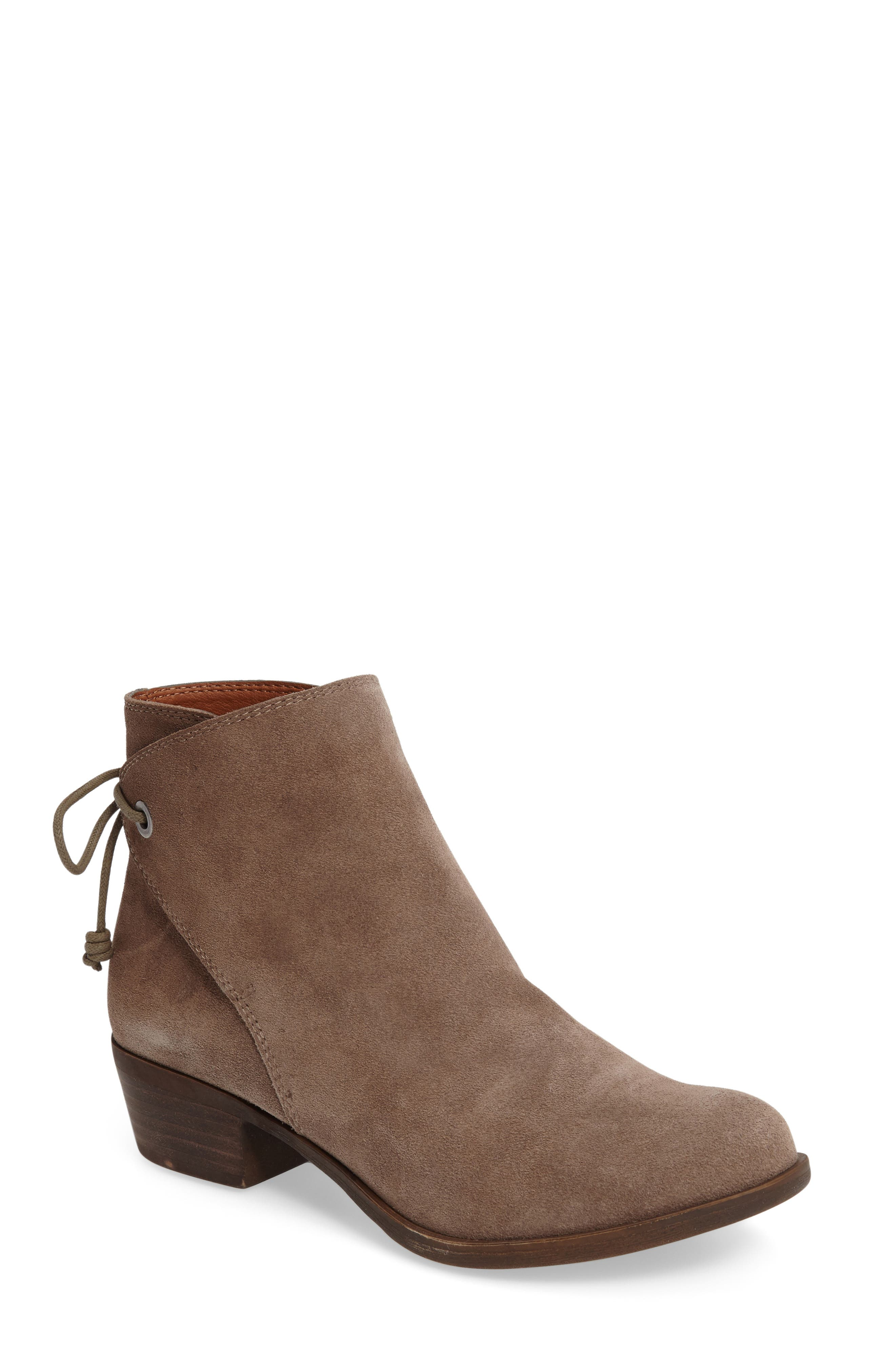 Gwenore Tie Bootie,                             Main thumbnail 2, color,