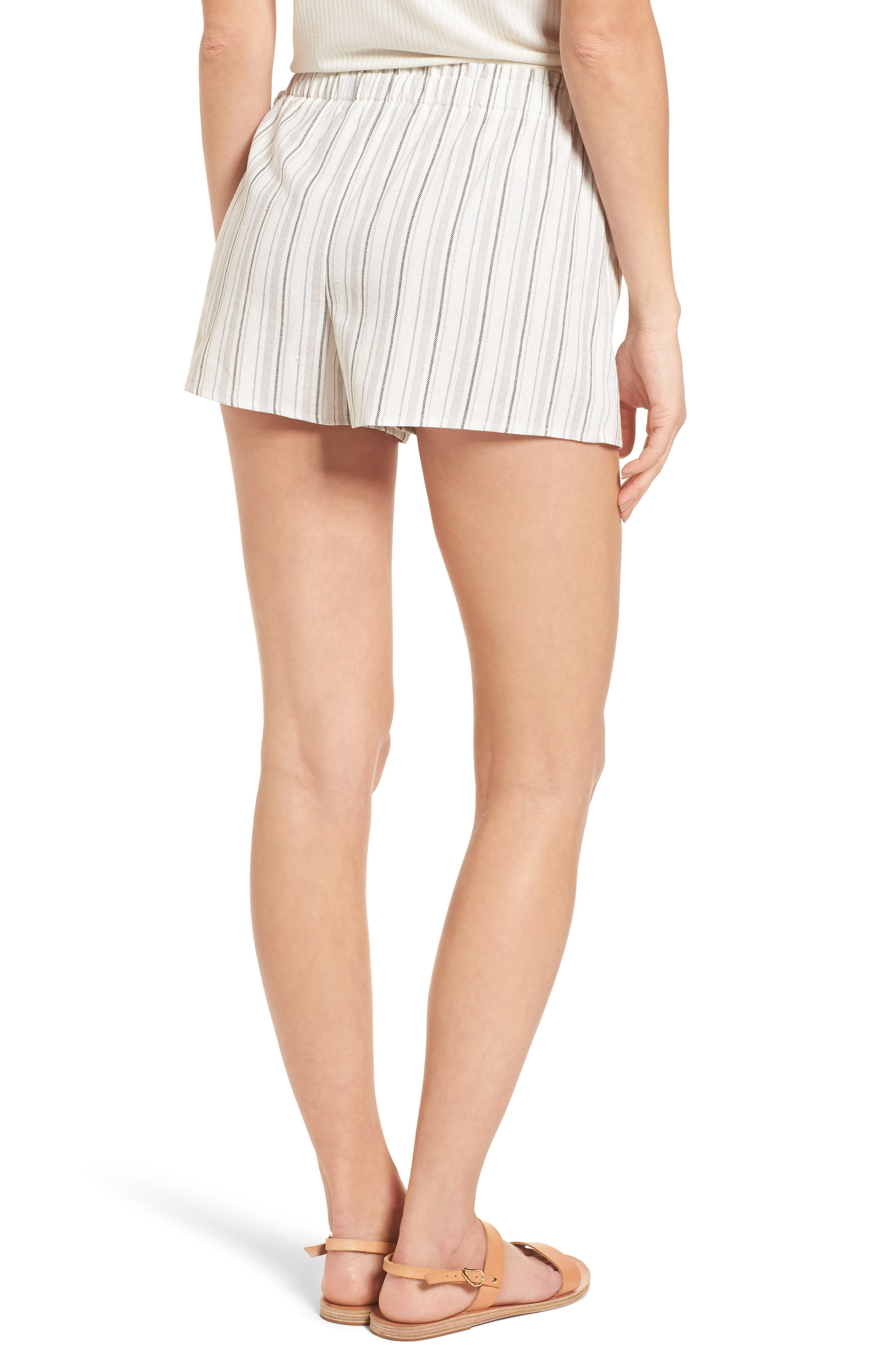 Side Tie Stripe Skort,                             Alternate thumbnail 2, color,                             250
