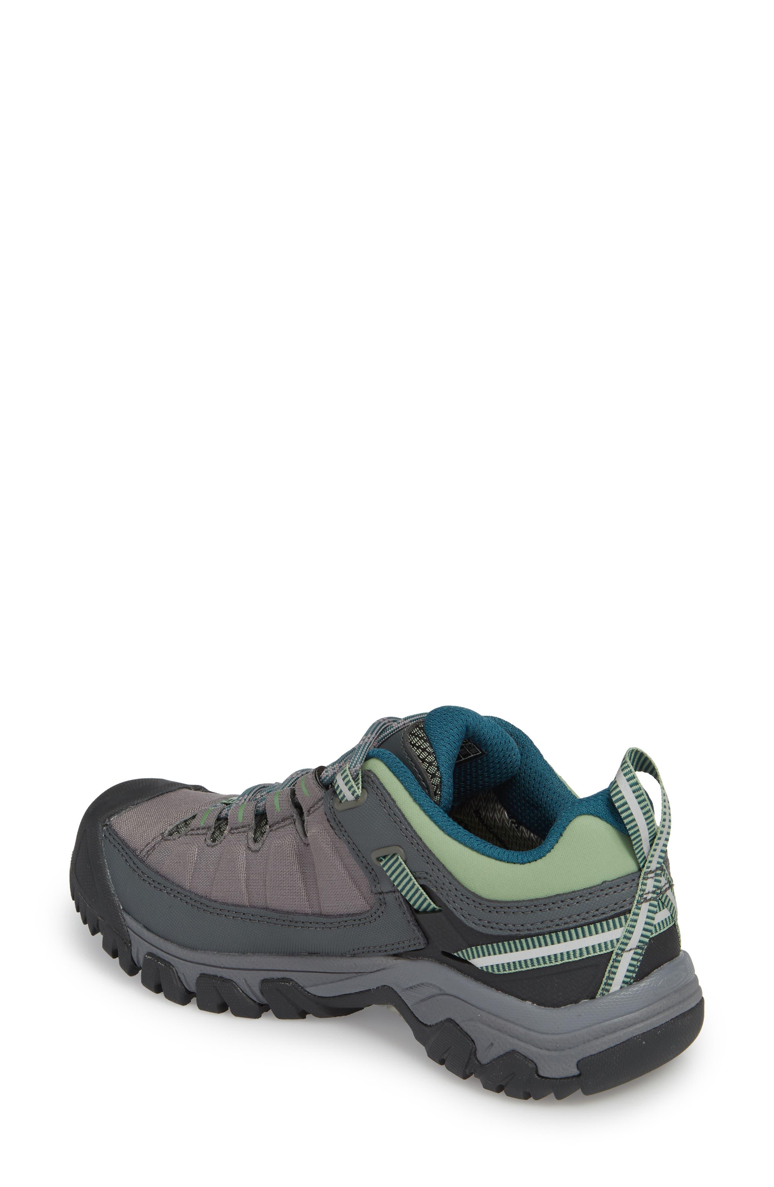 Targhee EXP Waterproof Hiking Shoe,                             Alternate thumbnail 2, color,                             STEEL GREY/ BASIL