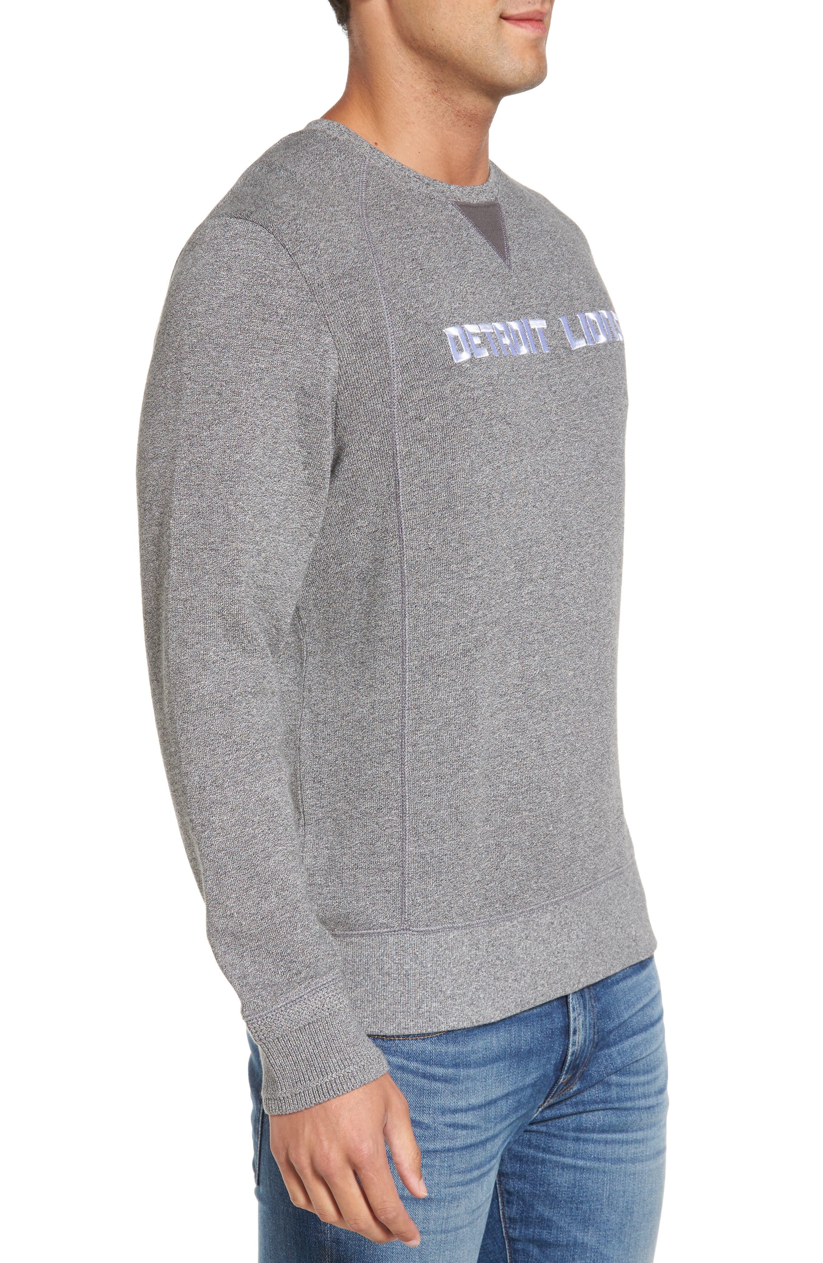 NFL Stitch of Liberty Embroidered Crewneck Sweatshirt,                             Alternate thumbnail 80, color,