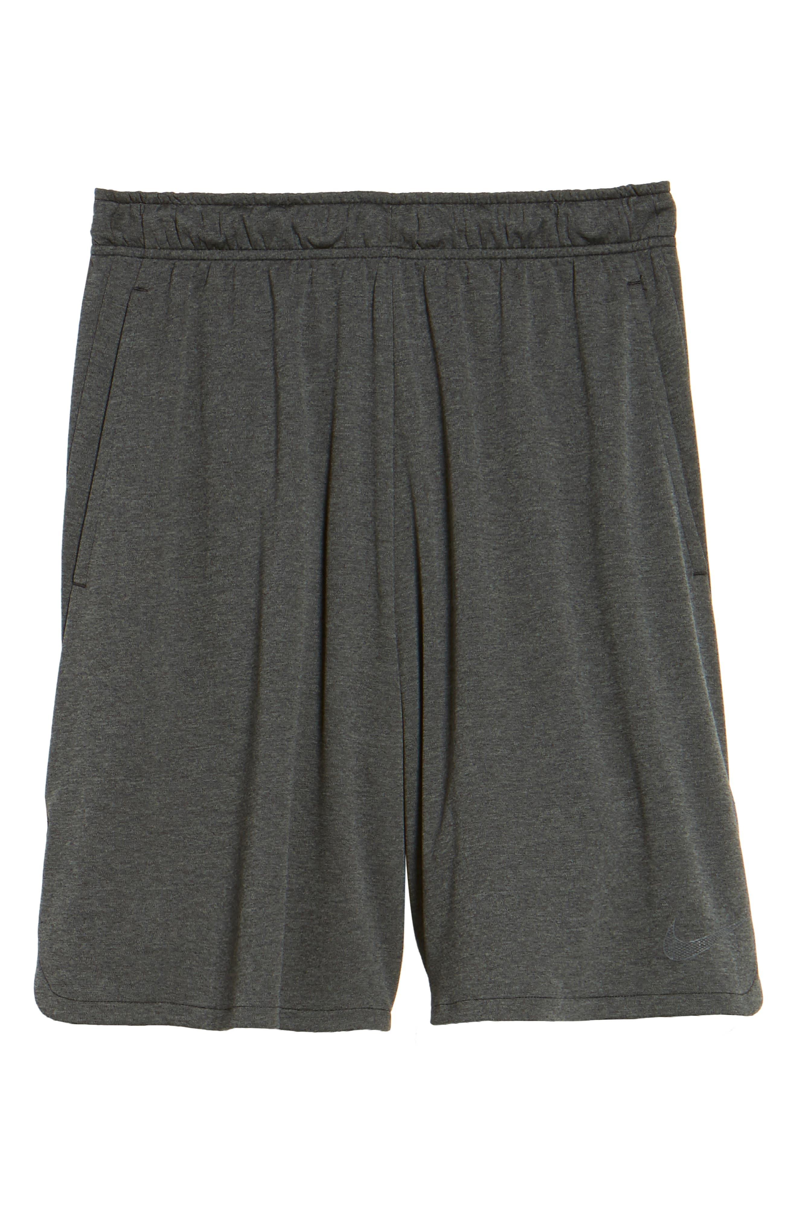 Dry Training Shorts,                             Alternate thumbnail 6, color,                             BLACK