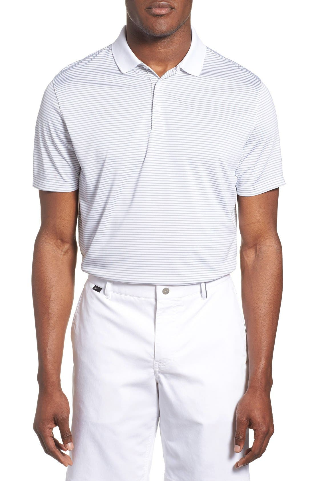 'Victory Stripe' Dri-FIT Golf Polo,                             Main thumbnail 4, color,
