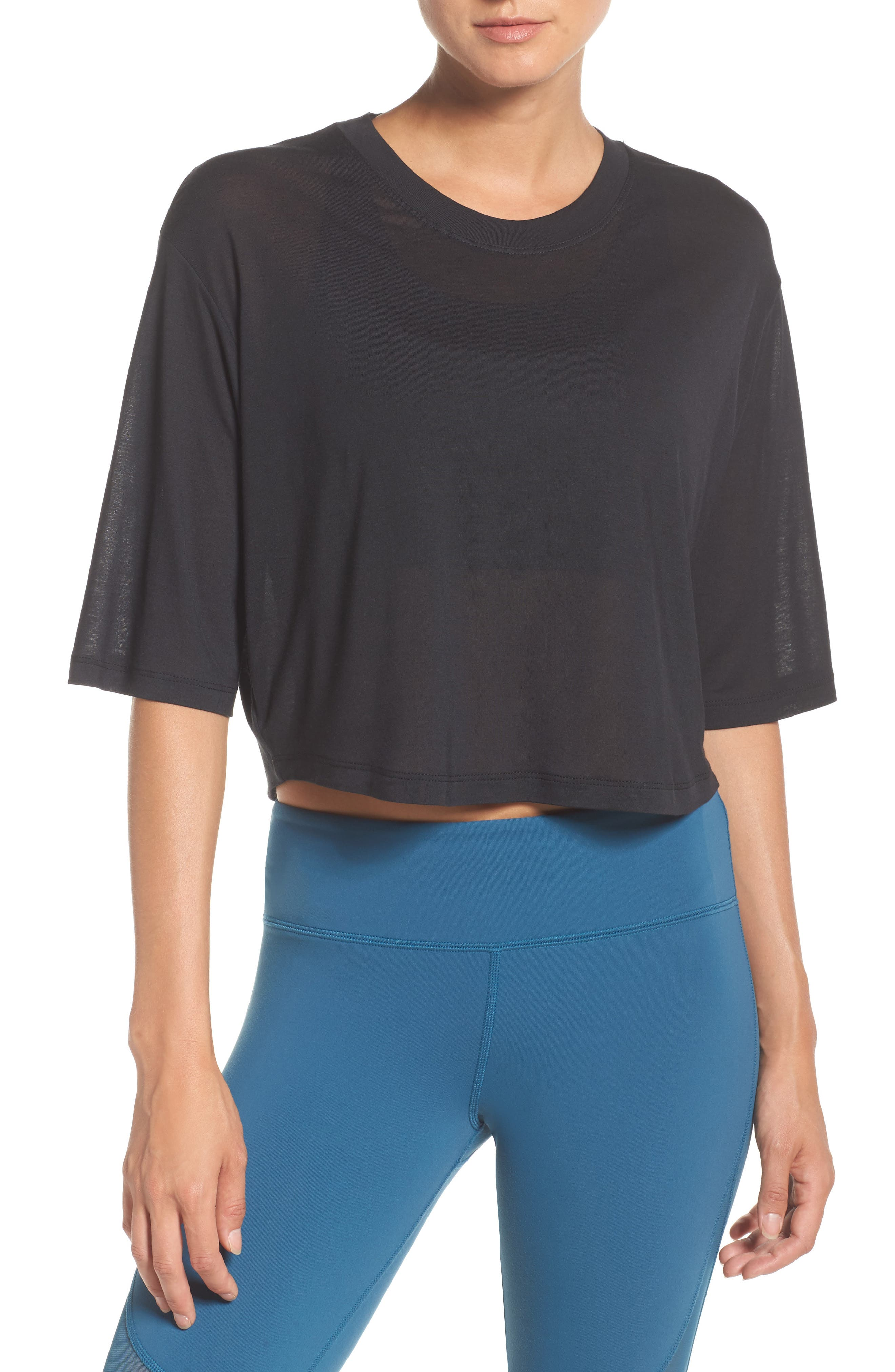 Verve Crop Top,                             Main thumbnail 1, color,                             001