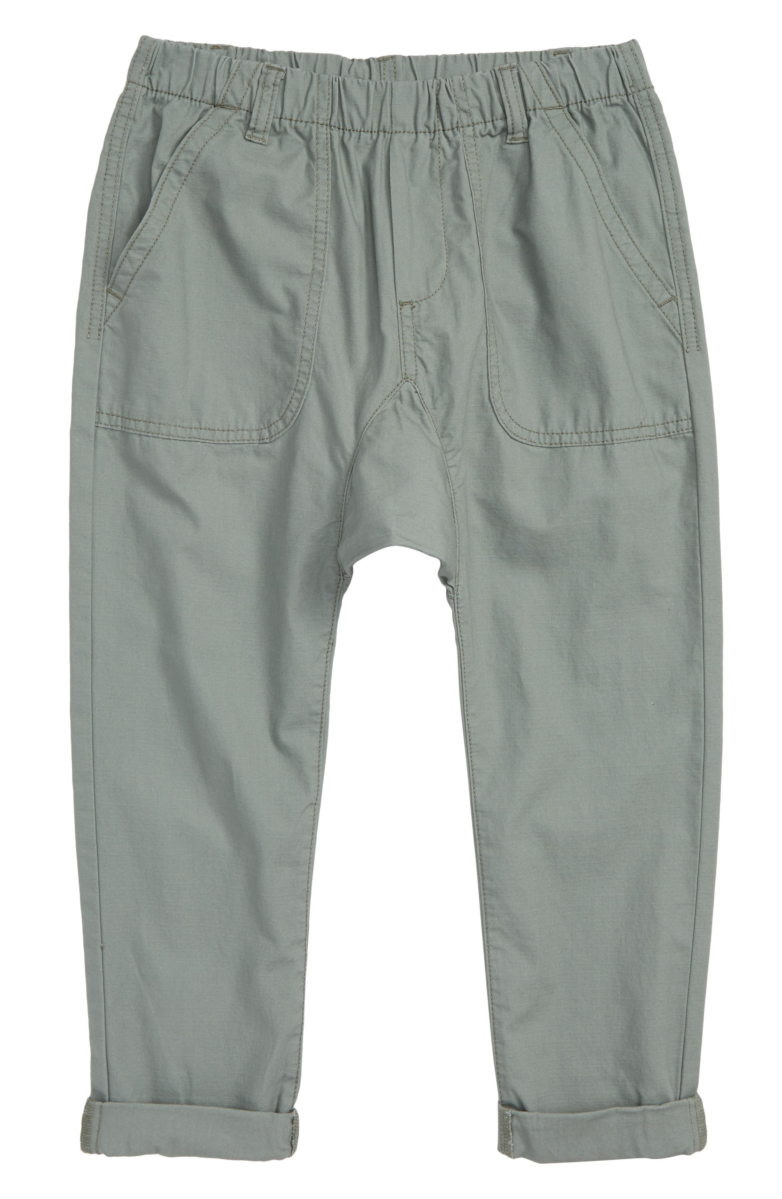 Pull-On Pants,                         Main,                         color, GREEN AGAVE