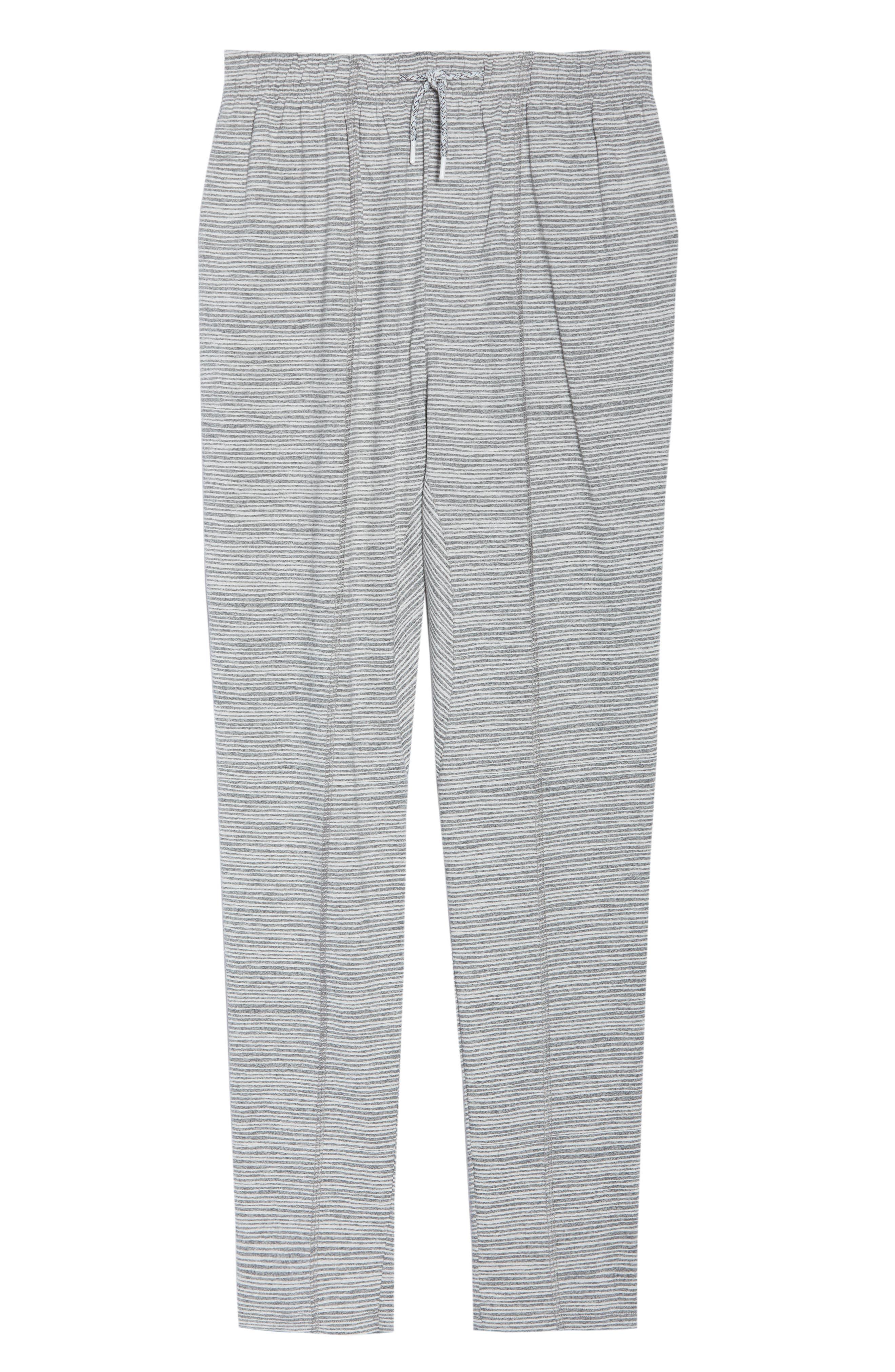 CHALMERS,                             Ash Stripe Lounge Pants,                             Alternate thumbnail 6, color,                             033