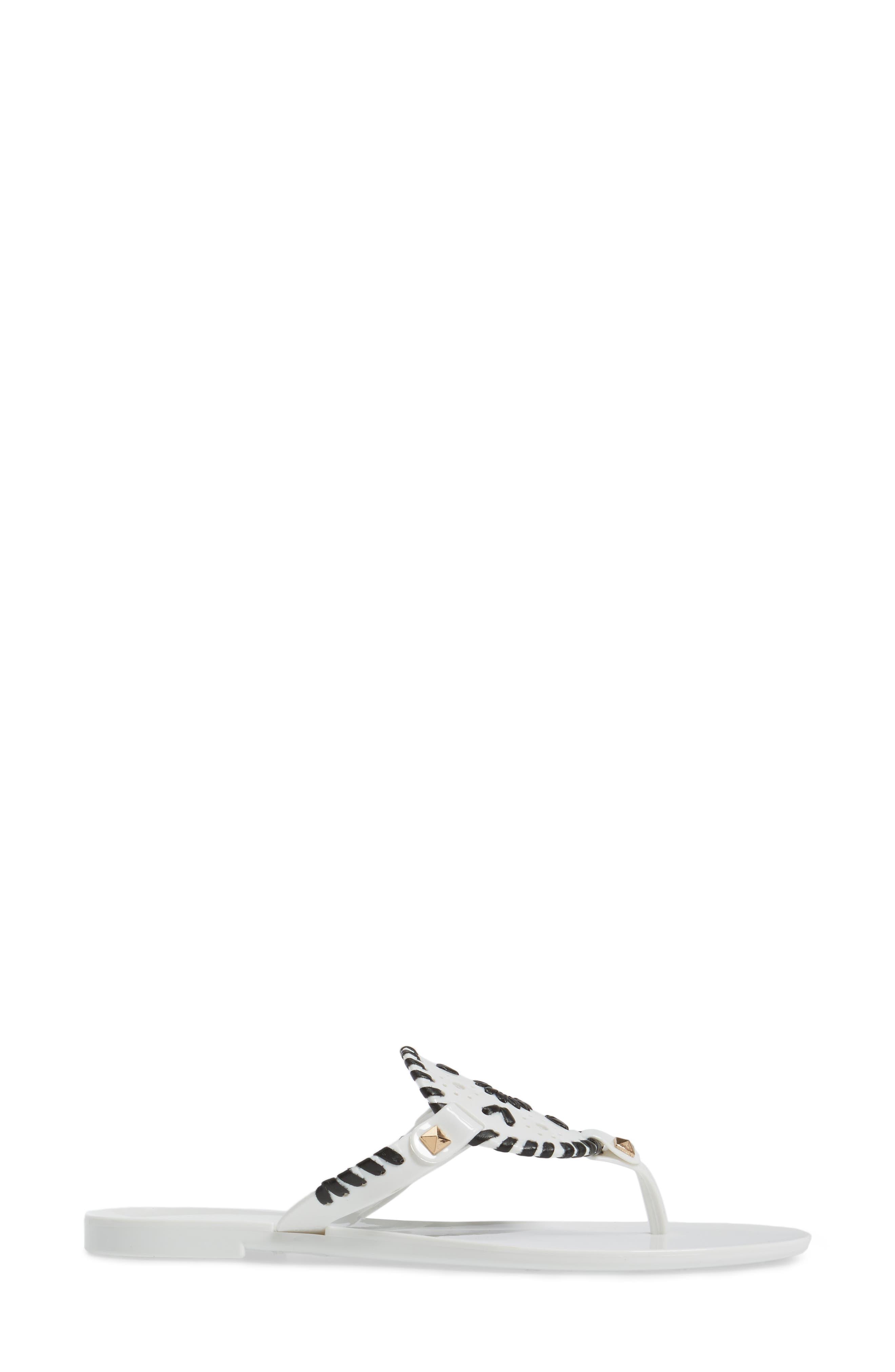 'Georgica' Jelly Flip Flop,                             Alternate thumbnail 106, color,