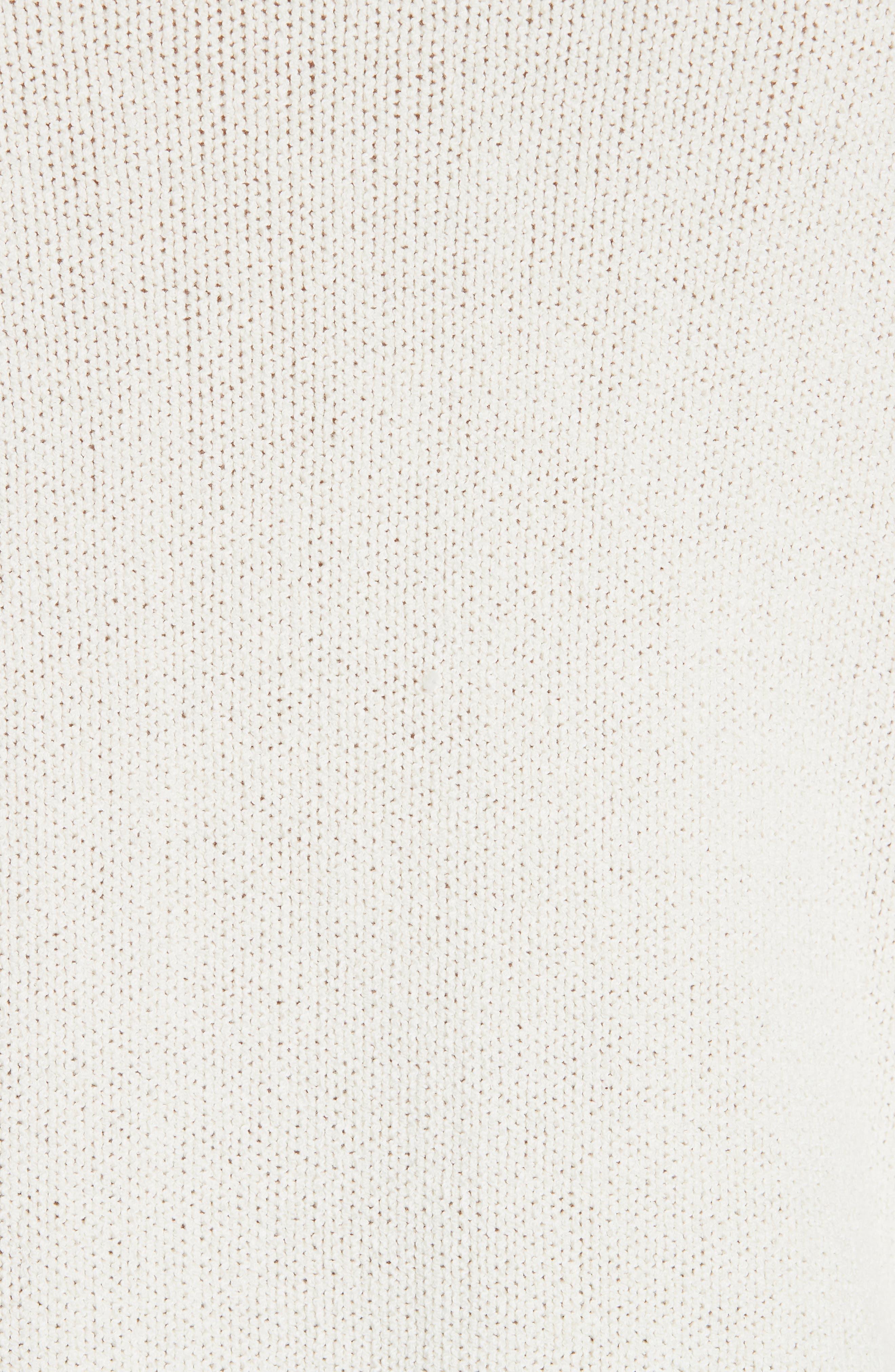 Somar Oversized Crewneck Sweater,                             Alternate thumbnail 5, color,                             100