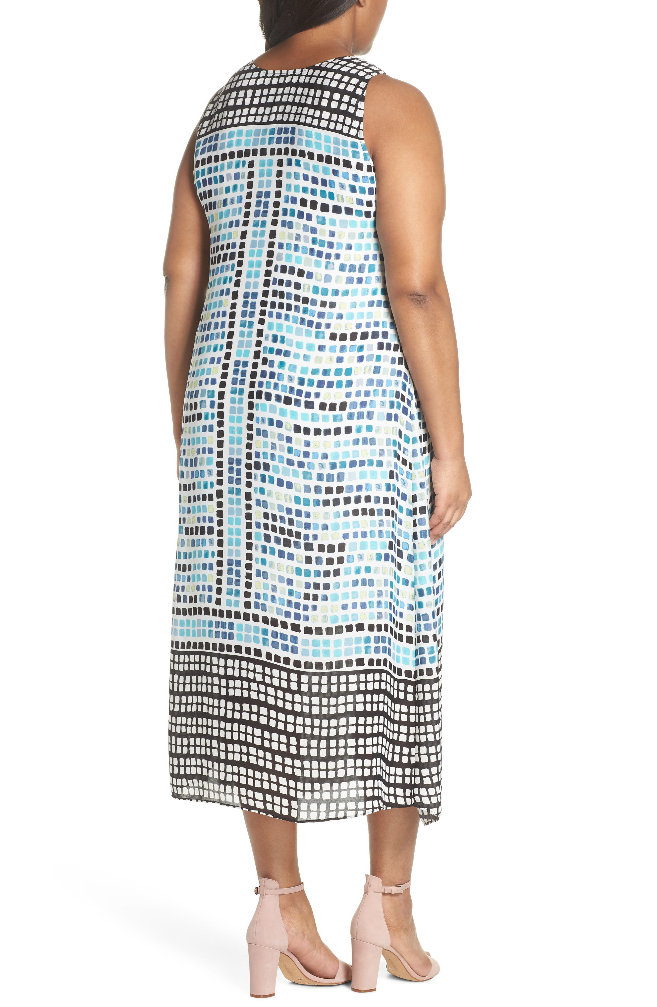 Color Wave Maxi Dress,                             Alternate thumbnail 2, color,                             490