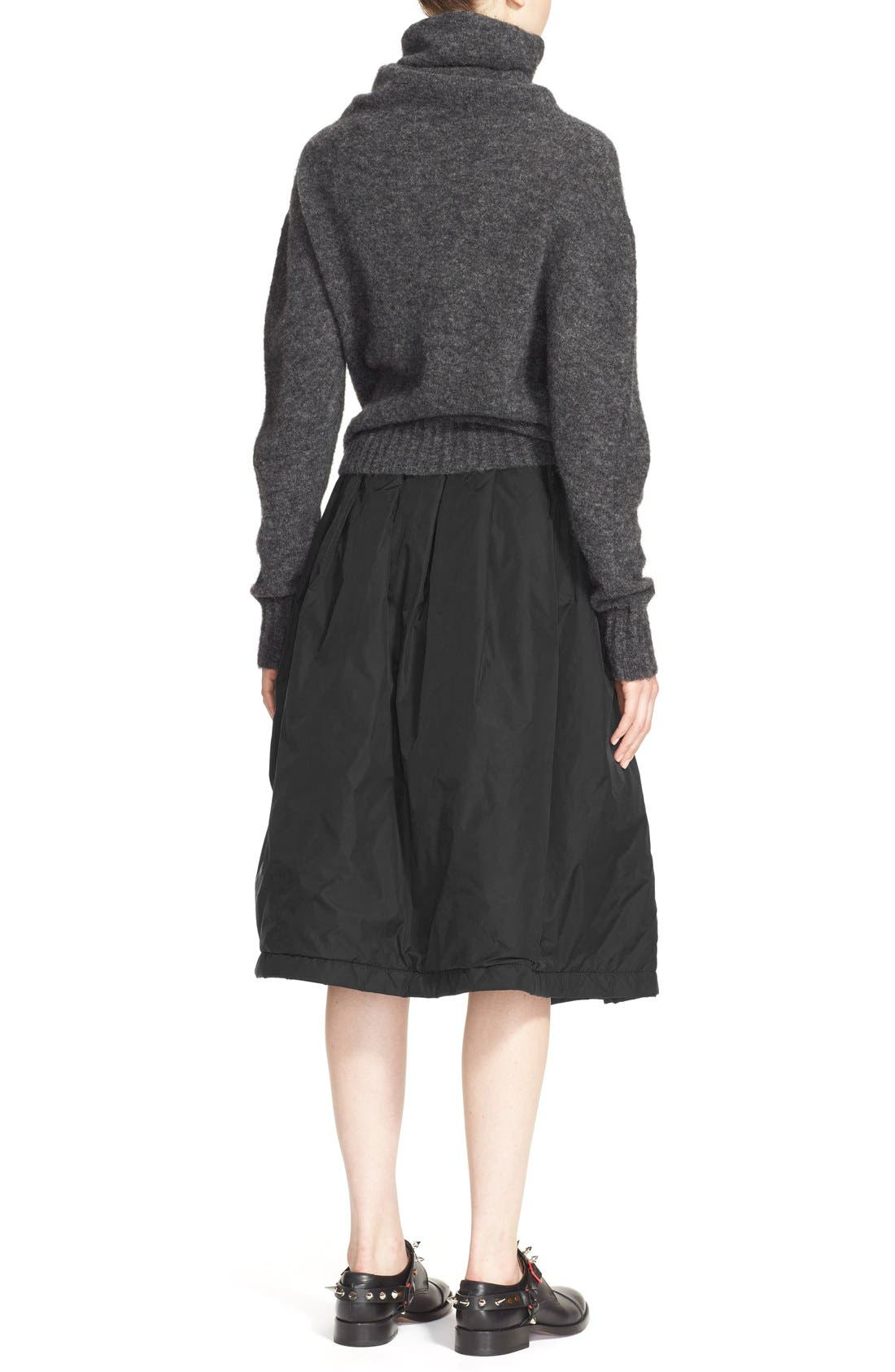 'Voletta Mohair' Turtleneck Sweater,                             Alternate thumbnail 5, color,                             021