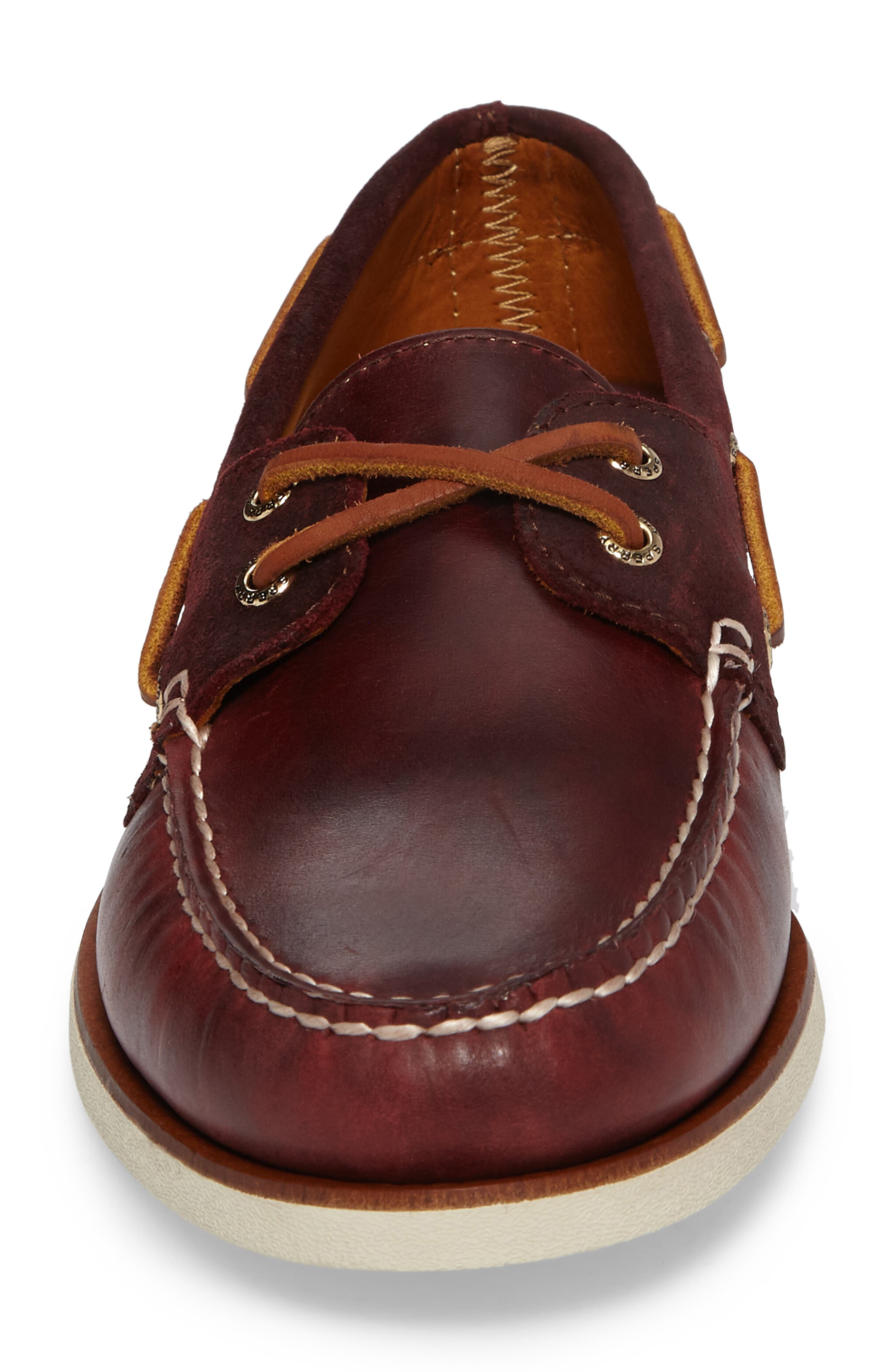 Gold Cyclone Boat Shoe,                             Alternate thumbnail 4, color,                             931