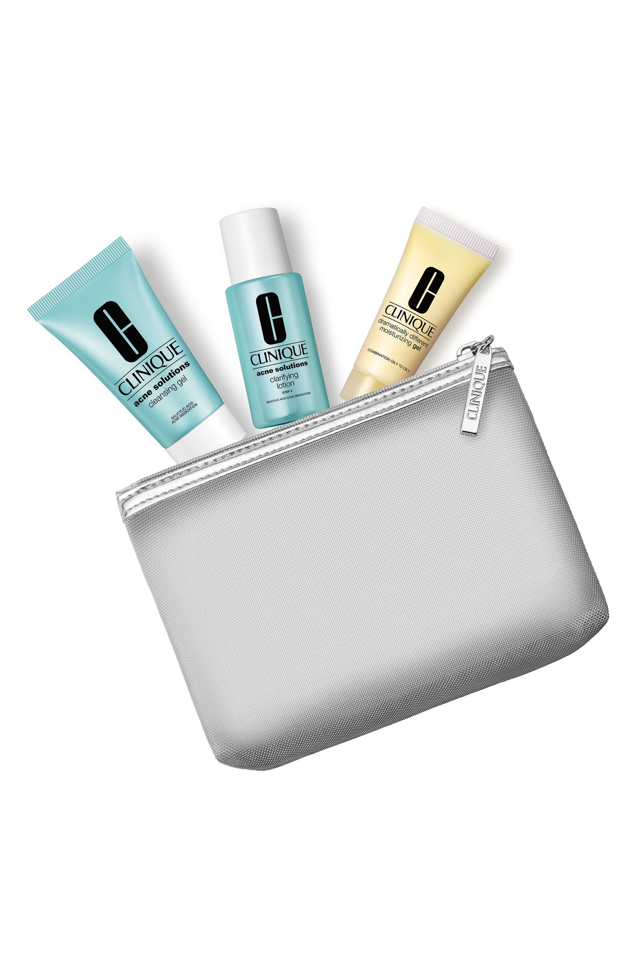 Clear Skin Kit,                             Main thumbnail 1, color,                             000