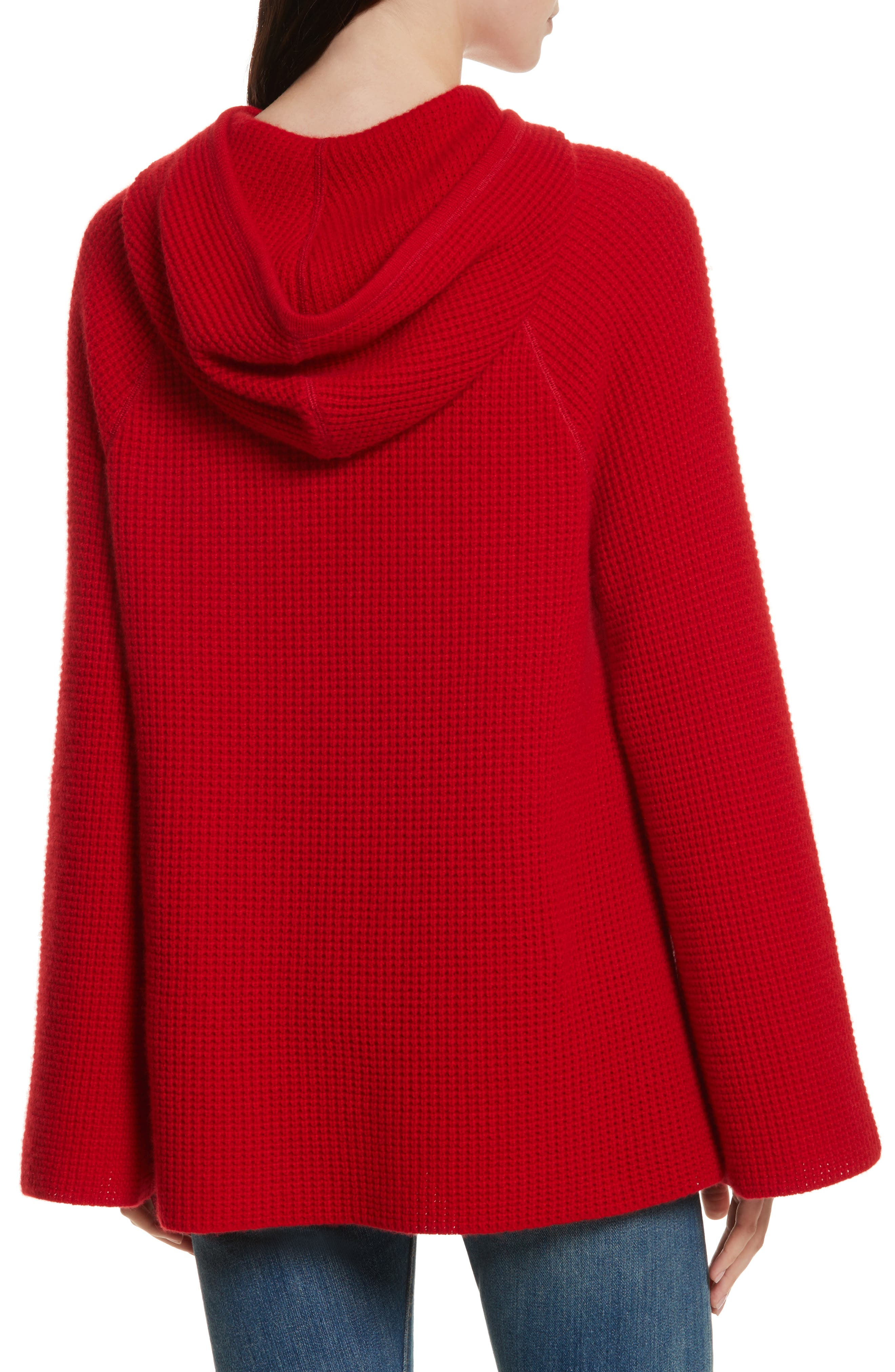 Tristan Thermal Cashmere Hoodie,                             Alternate thumbnail 2, color,                             622