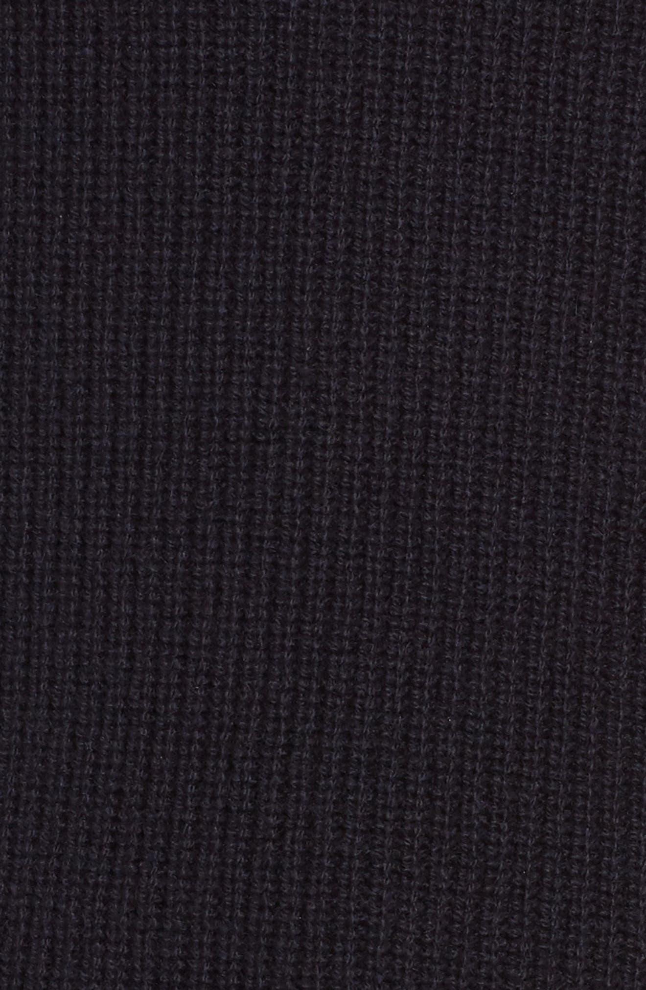 Filda Tie Side Wool Blend Sweater,                             Alternate thumbnail 5, color,                             480