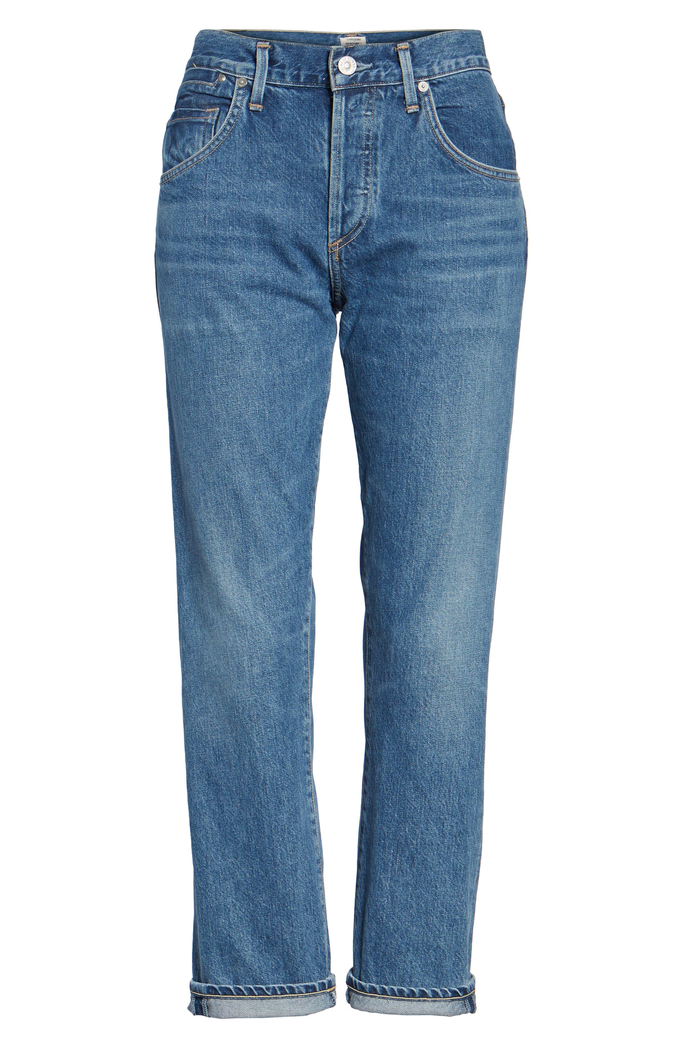 Emerson Slim Boyfriend Jeans,                             Alternate thumbnail 6, color,                             425