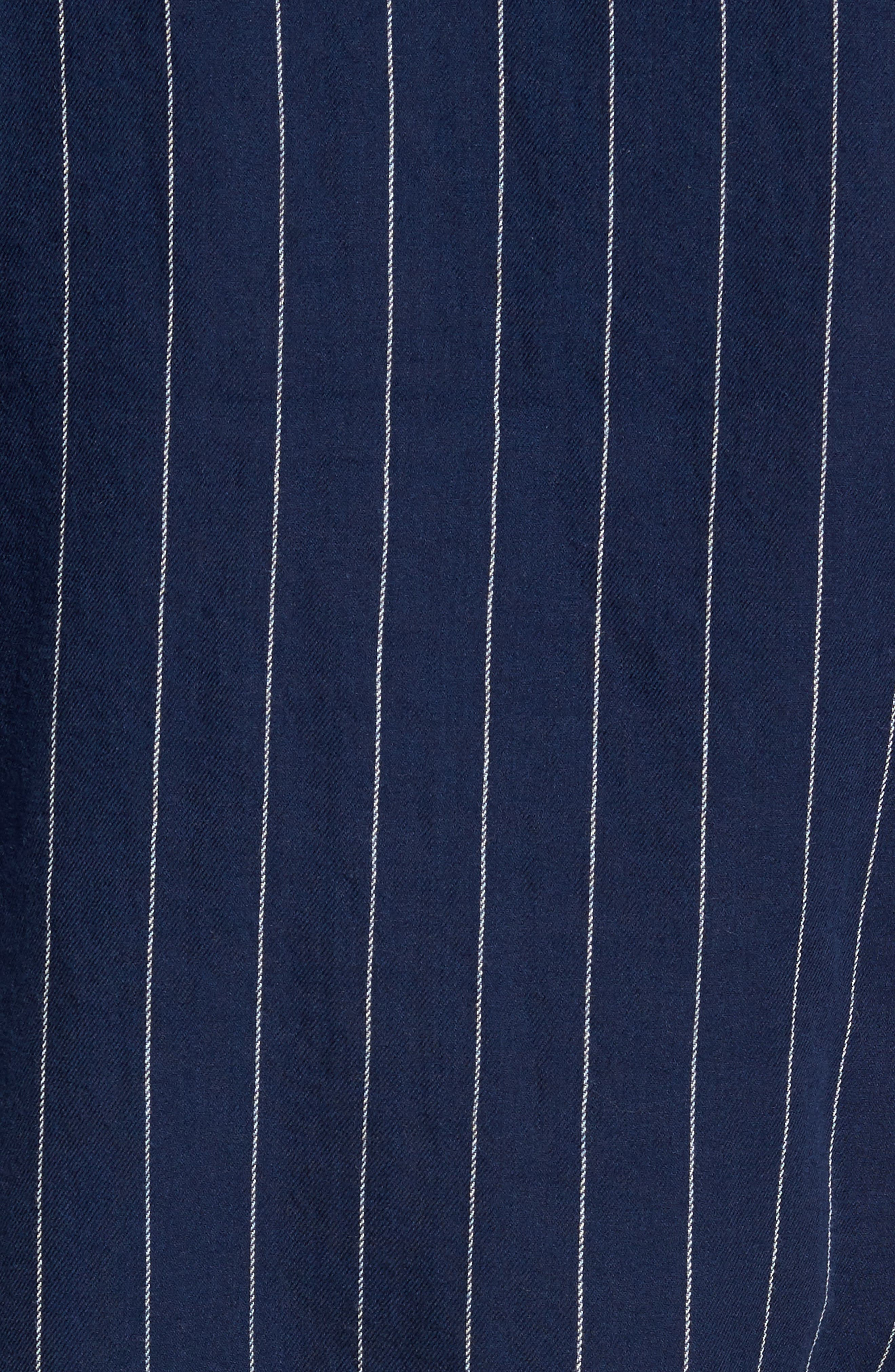 Stripe Twill Shirt,                             Alternate thumbnail 5, color,                             410