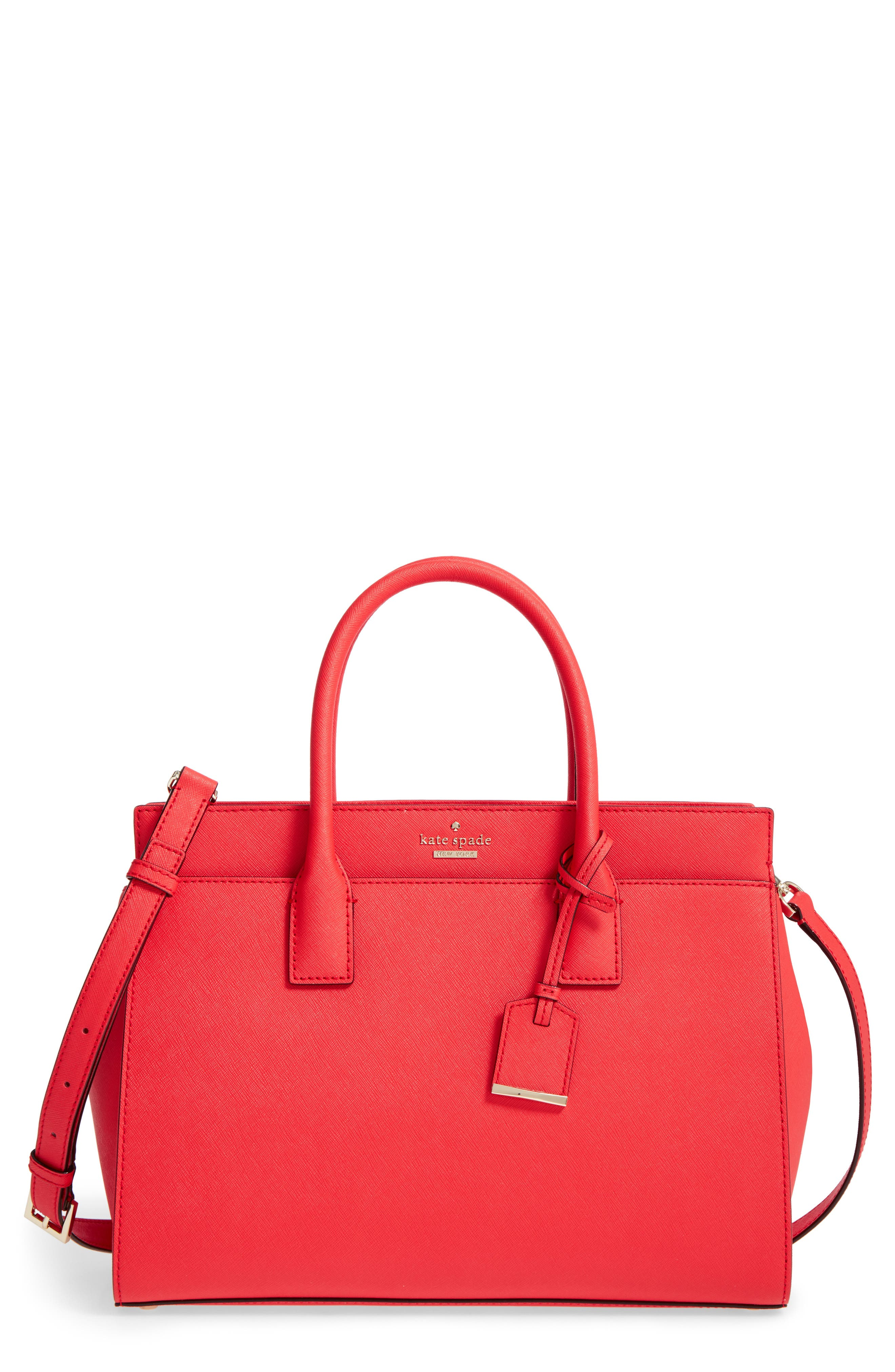 cameron street - candace leather satchel,                             Main thumbnail 18, color,