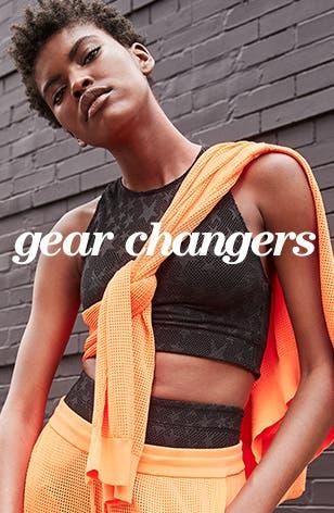 Gear changers.