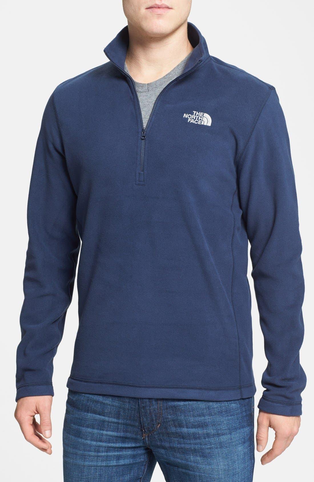 'TKA 100 Glacier' Quarter Zip Fleece Pullover,                             Main thumbnail 33, color,